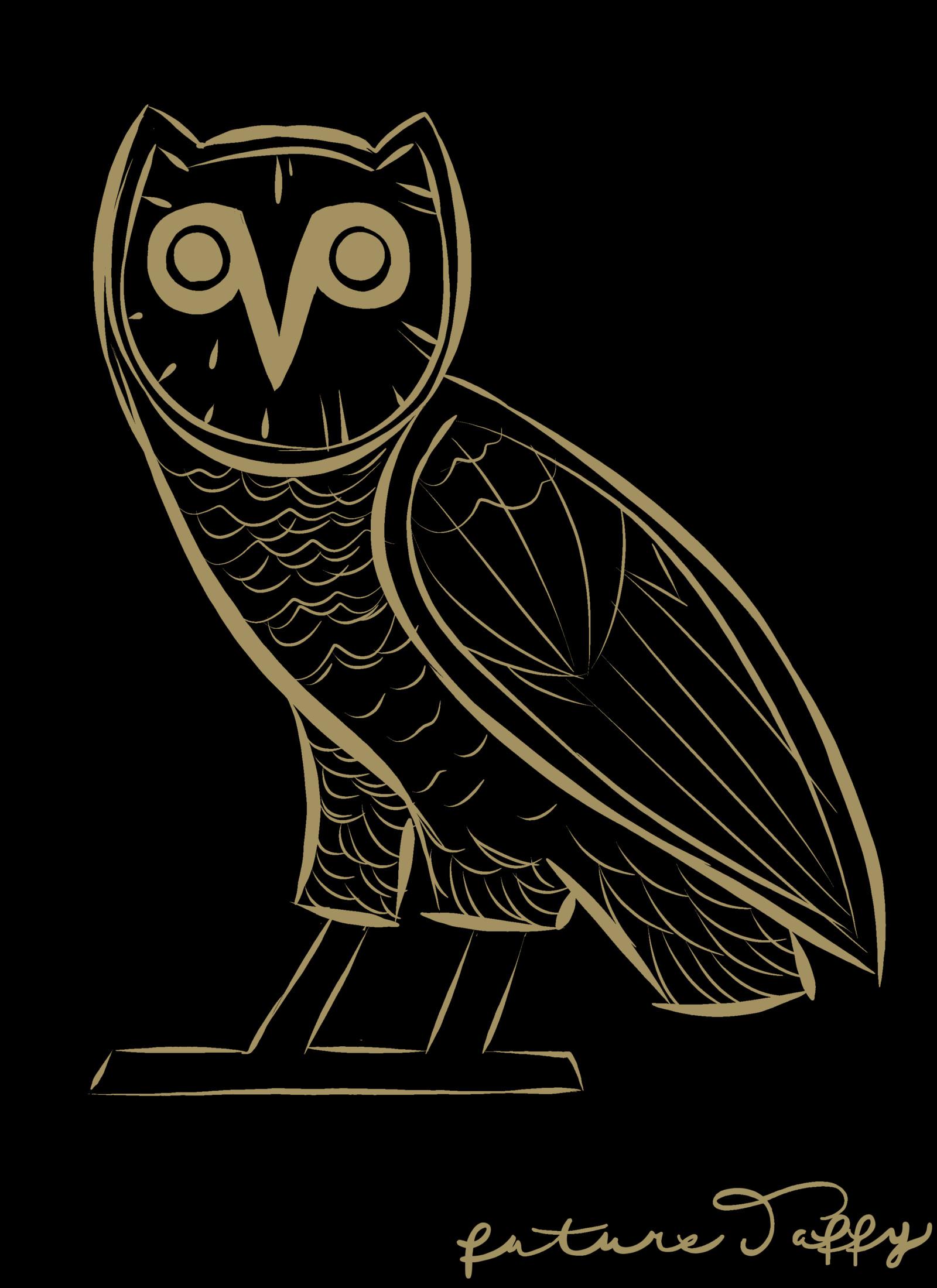 … TaffySummer6ixteen October's Very Own Owl with background 2015 by  TaffySummer6ixteen