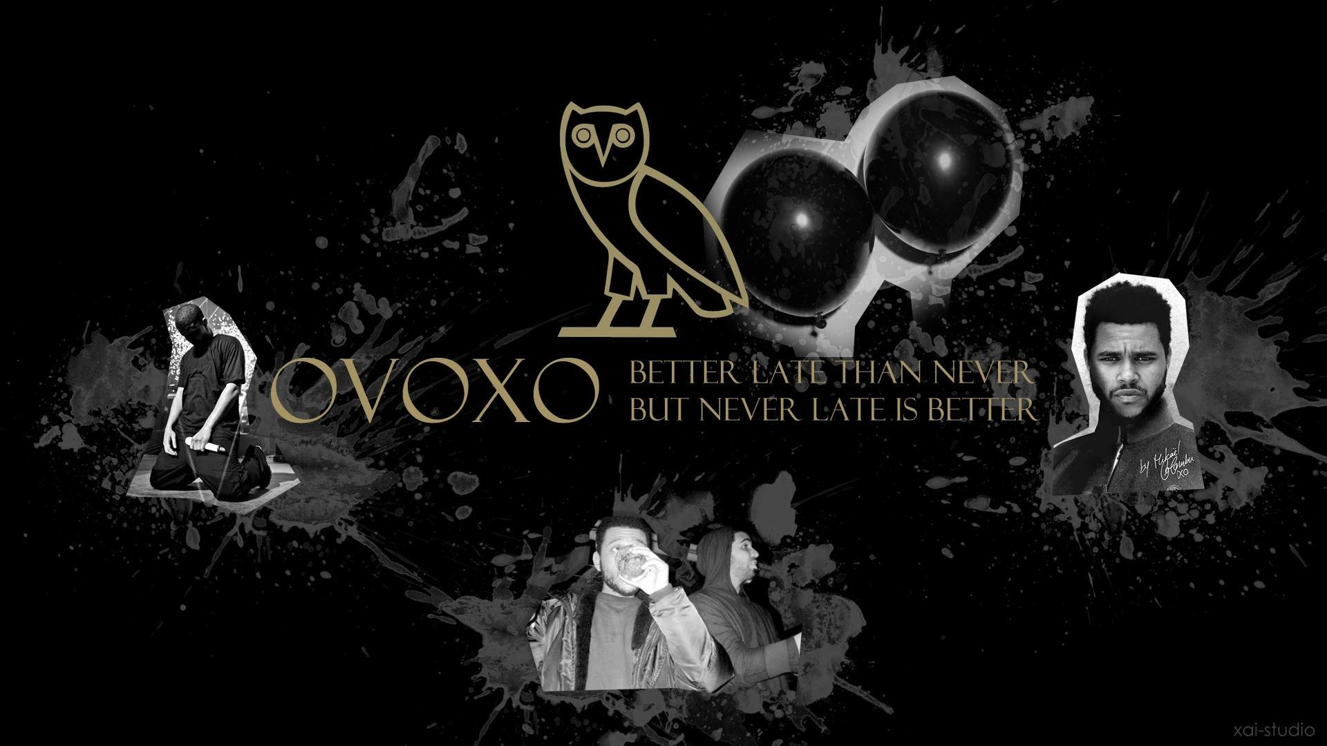 Drake OVOXO The Weeknd • Rap Wallpapers