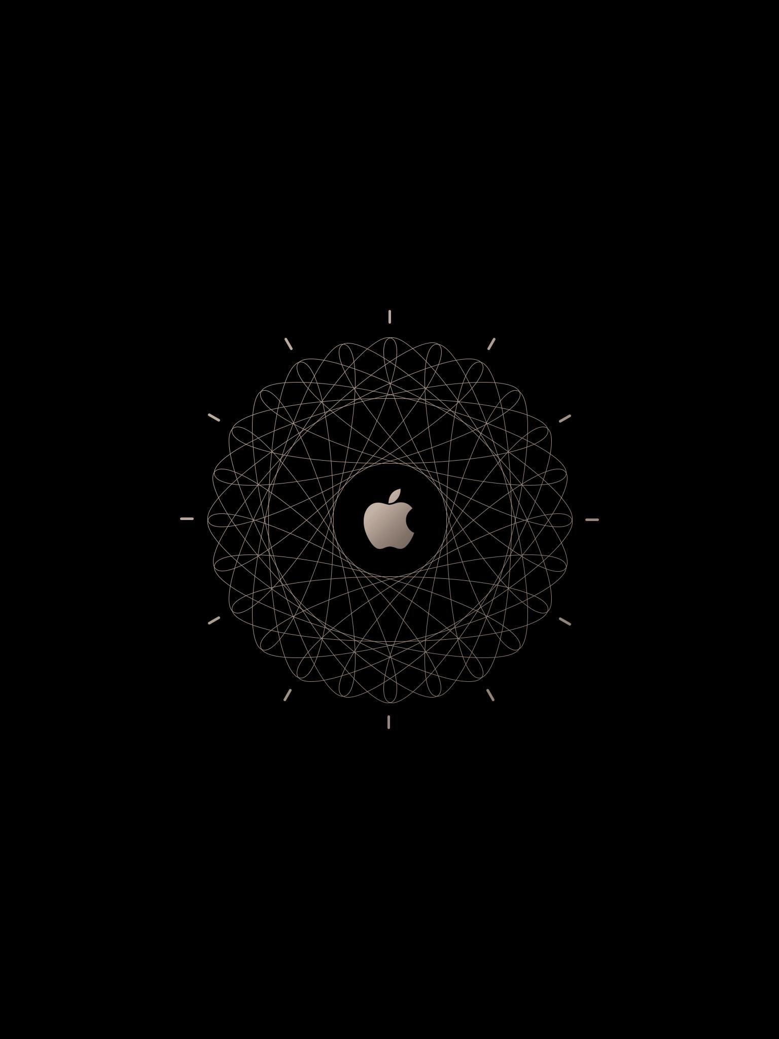 Wallpaper iPad Retina Apple Watch Blanco
