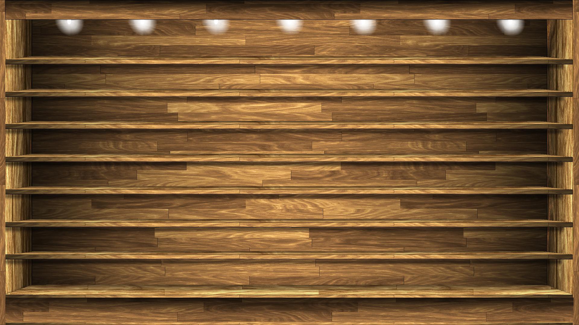 Shelves Wallpaper Source · Desk and Shelves Desktop Wallpaper  WallpaperSafari