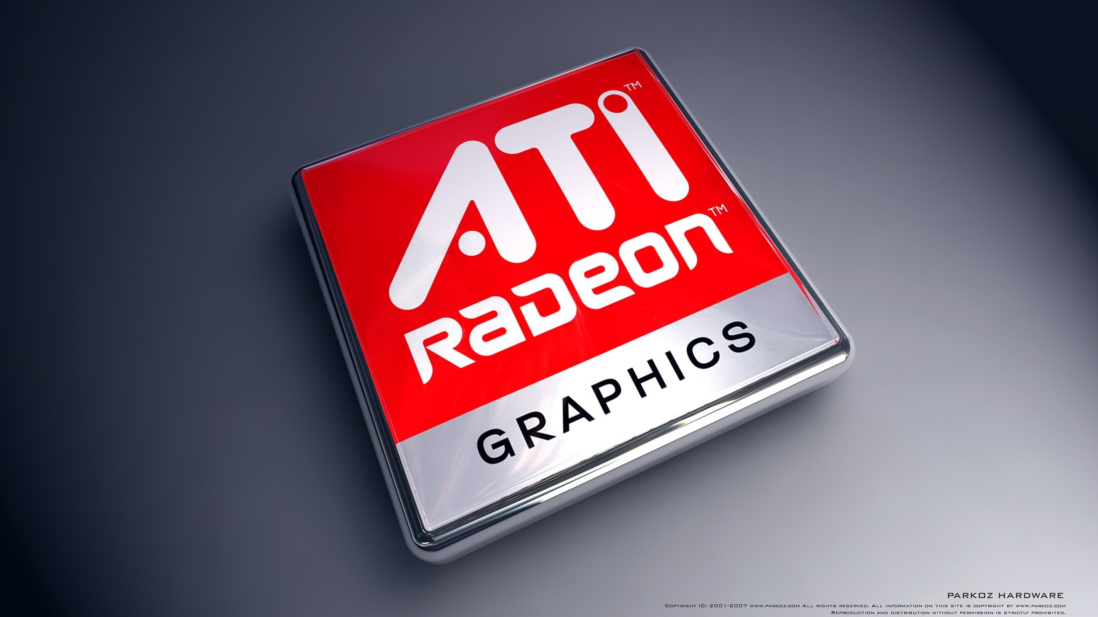 Preview wallpaper radeon, card, video, graphics, red, black 3840×2160