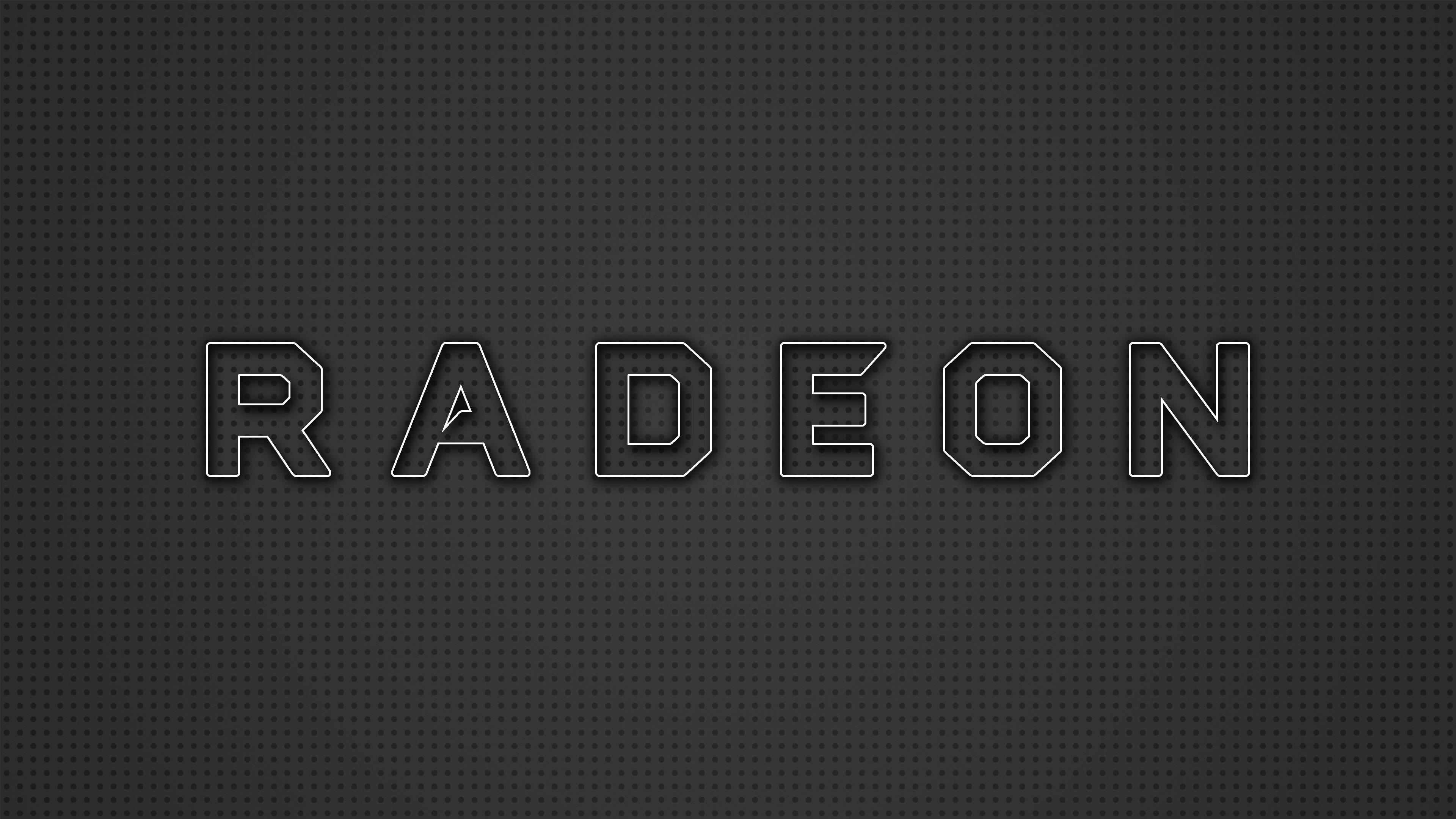 … New Radeon Logo 4K Wallpaper by RV770