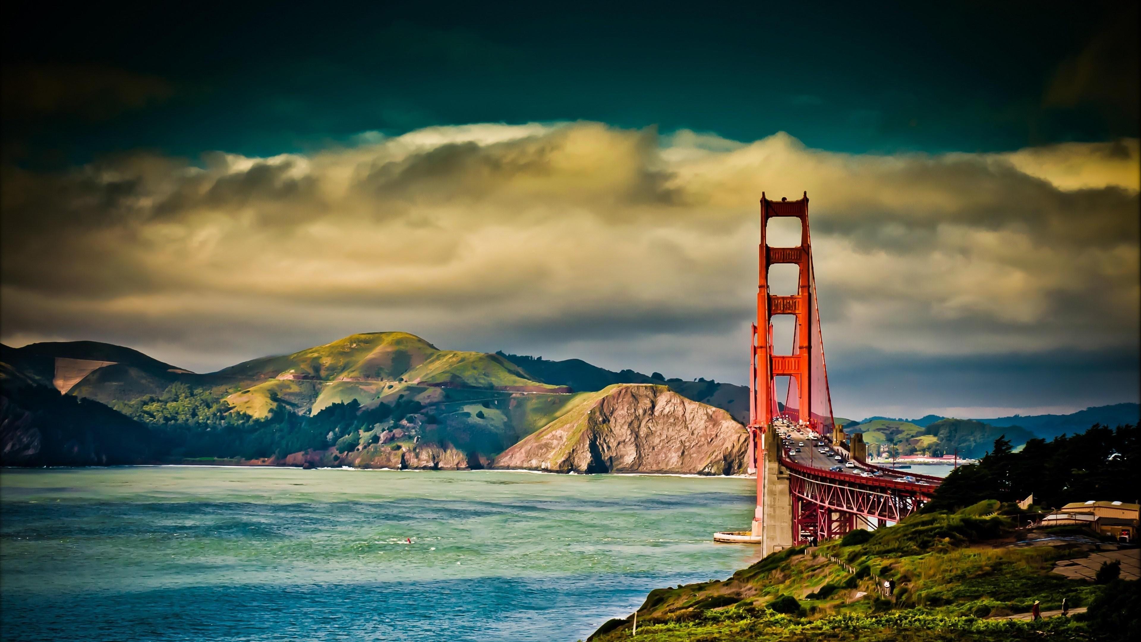 Golden Gate Wallpaper 4K Ultra HD Collections