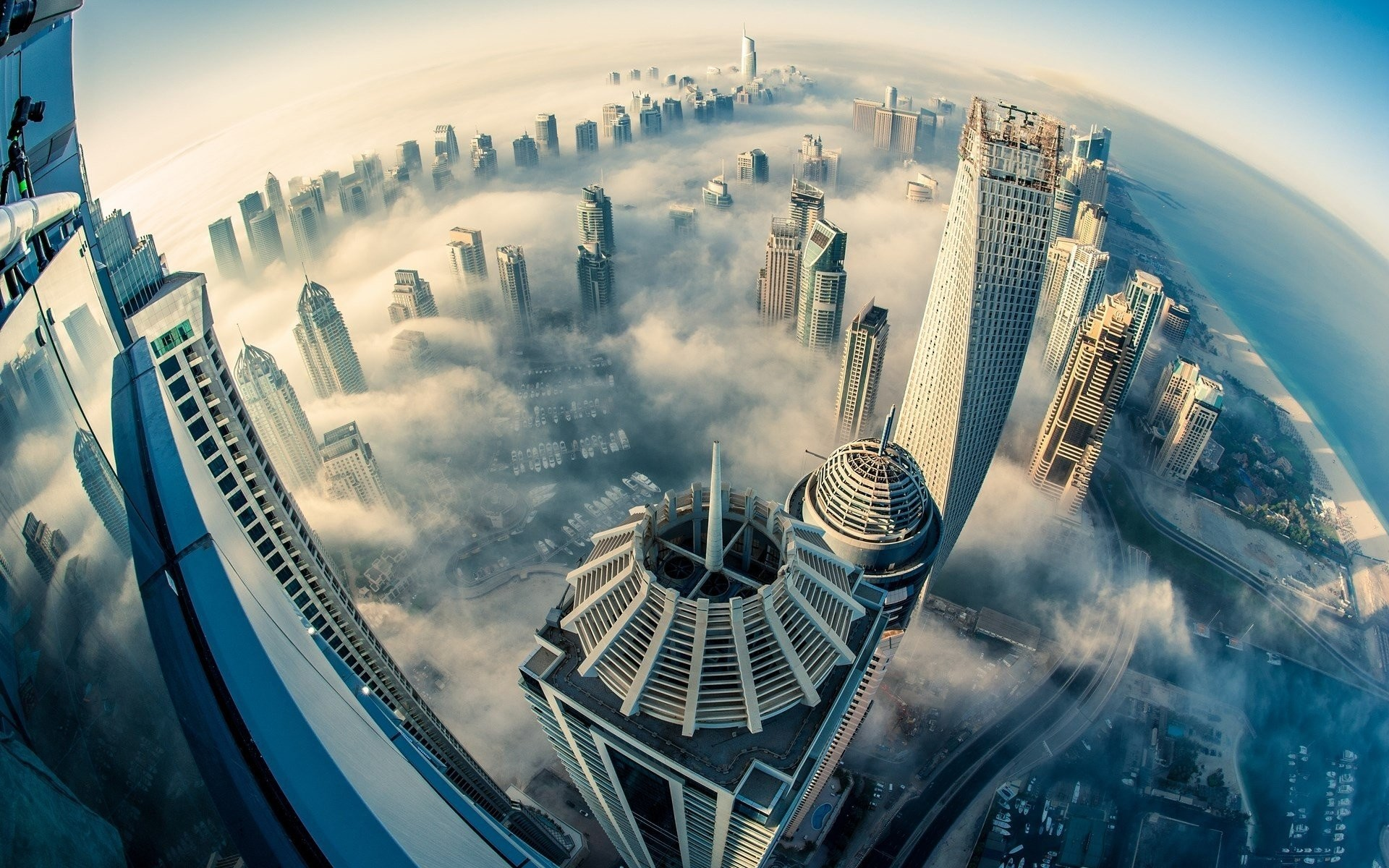 City dubai cloud fog building hd wallpaper 255750 ….jpg, 4K …
