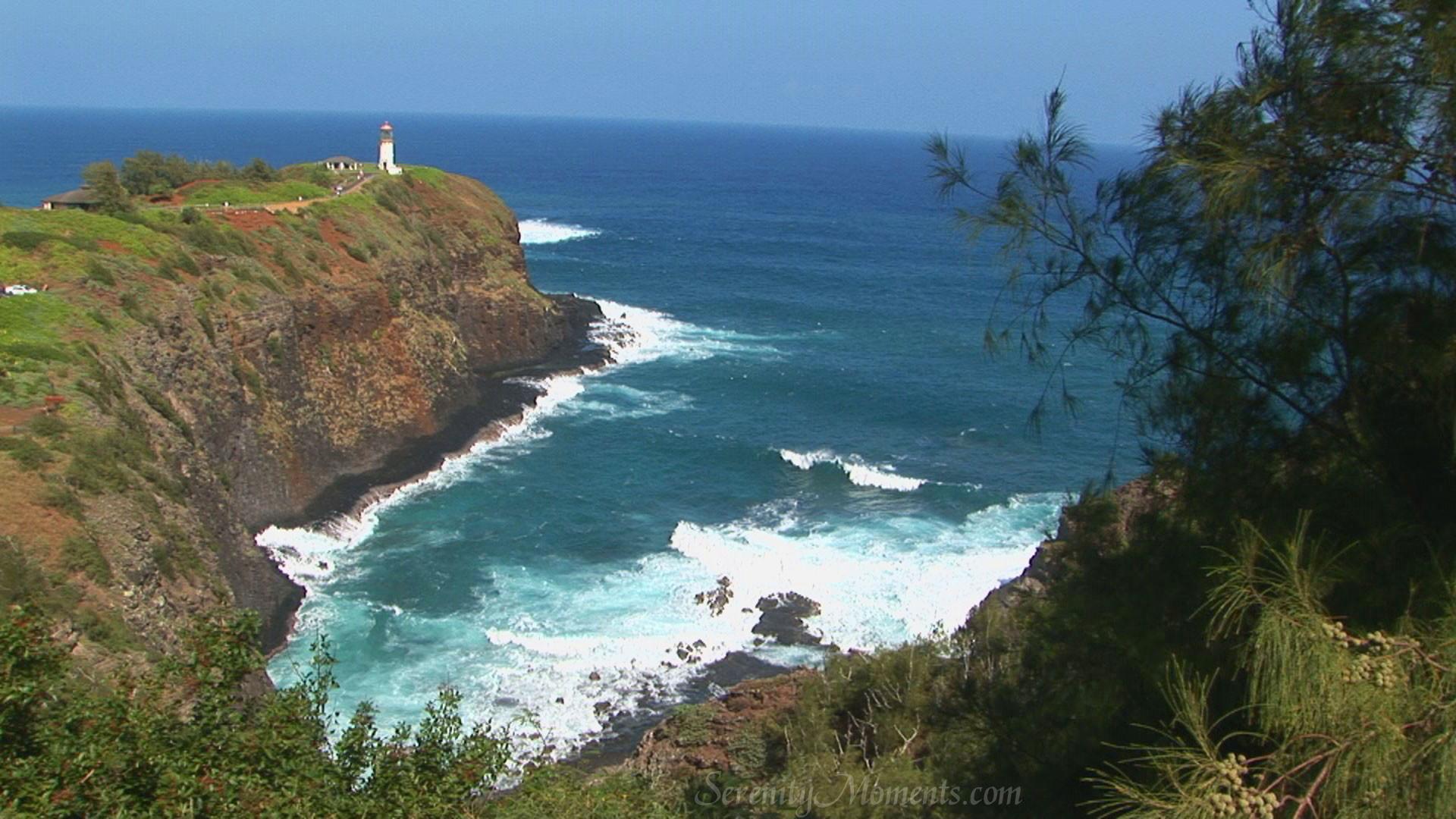 Kauai Lighthouse, Hawaii Screensaver