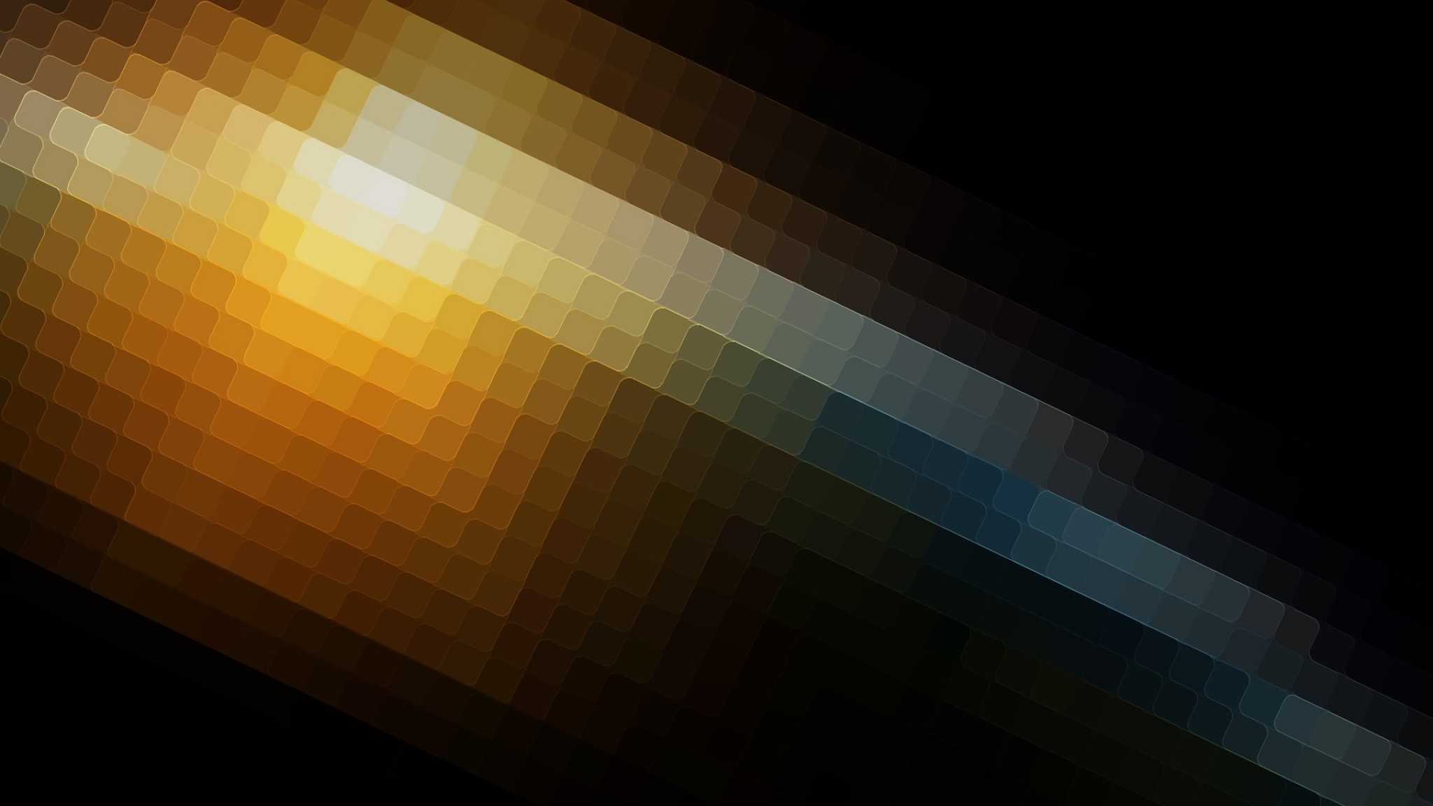 Preview wallpaper pixels, form, square, shadow, light 2048×1152