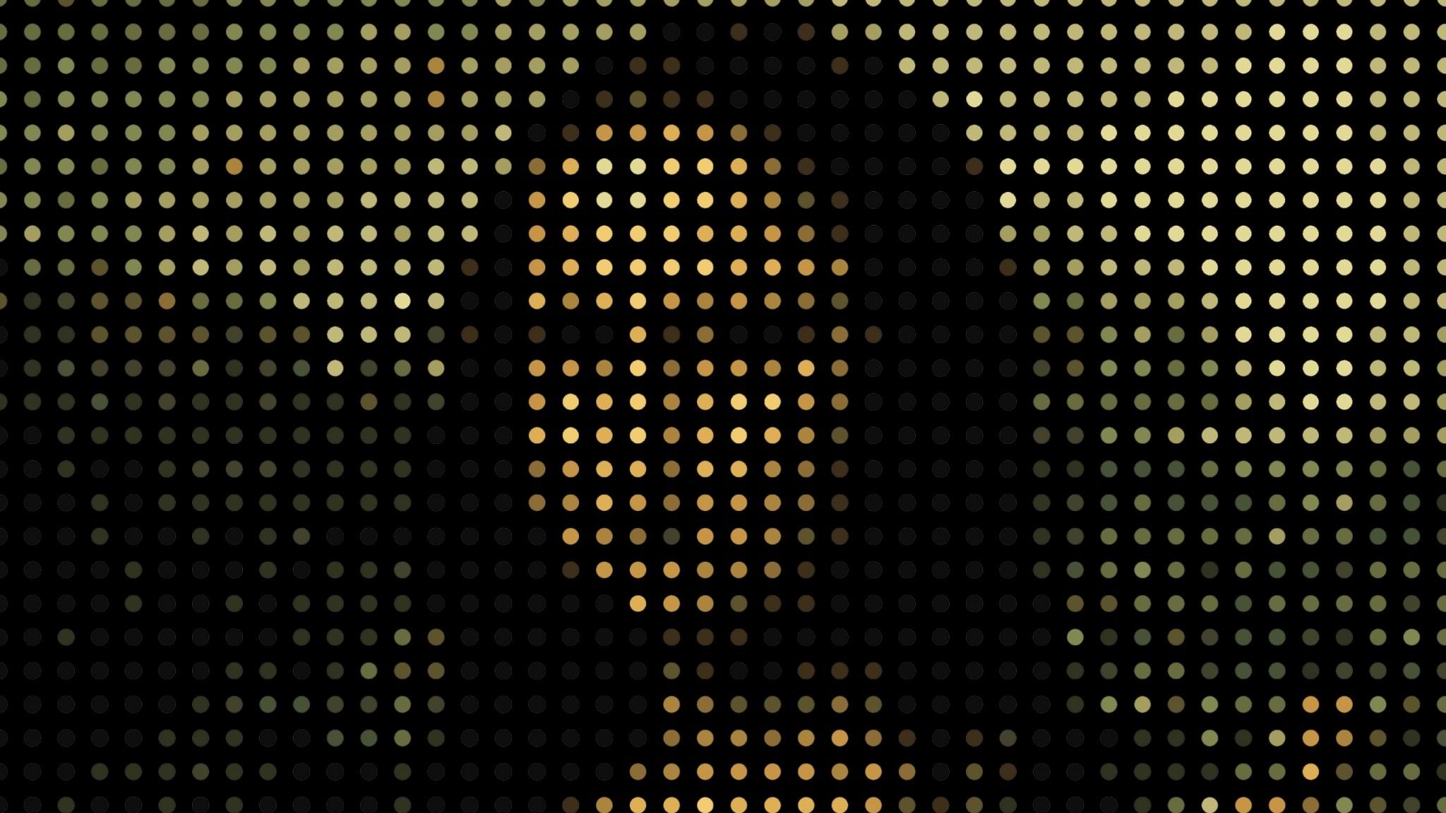 Preview wallpaper mona lisa, portrait, pixels 2048×1152