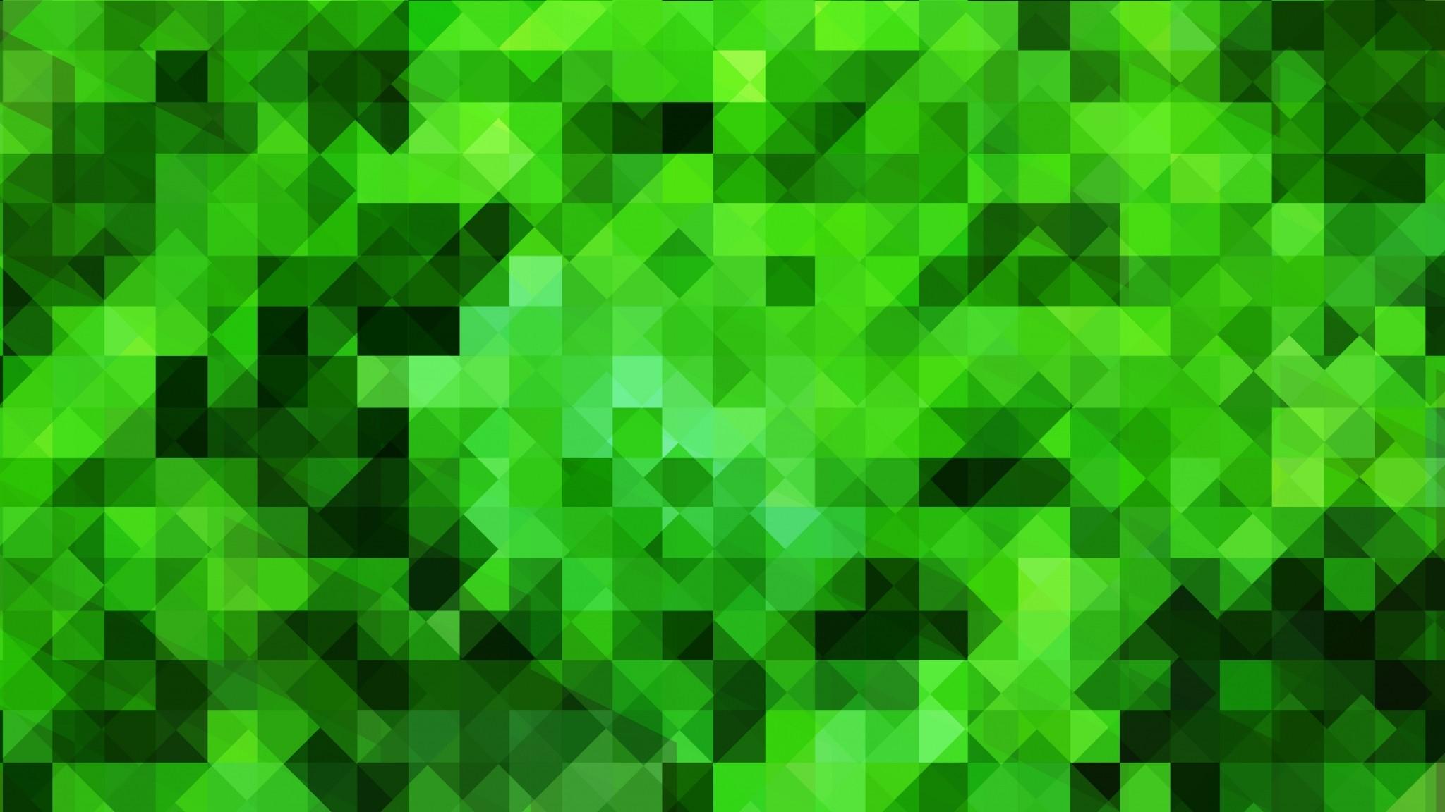 Preview wallpaper pixels, texture, green 2048×1152