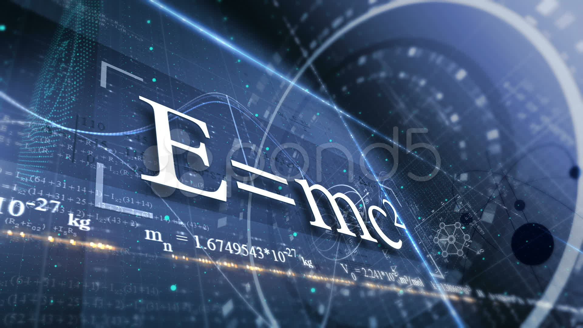 Physics Background Abstract background with