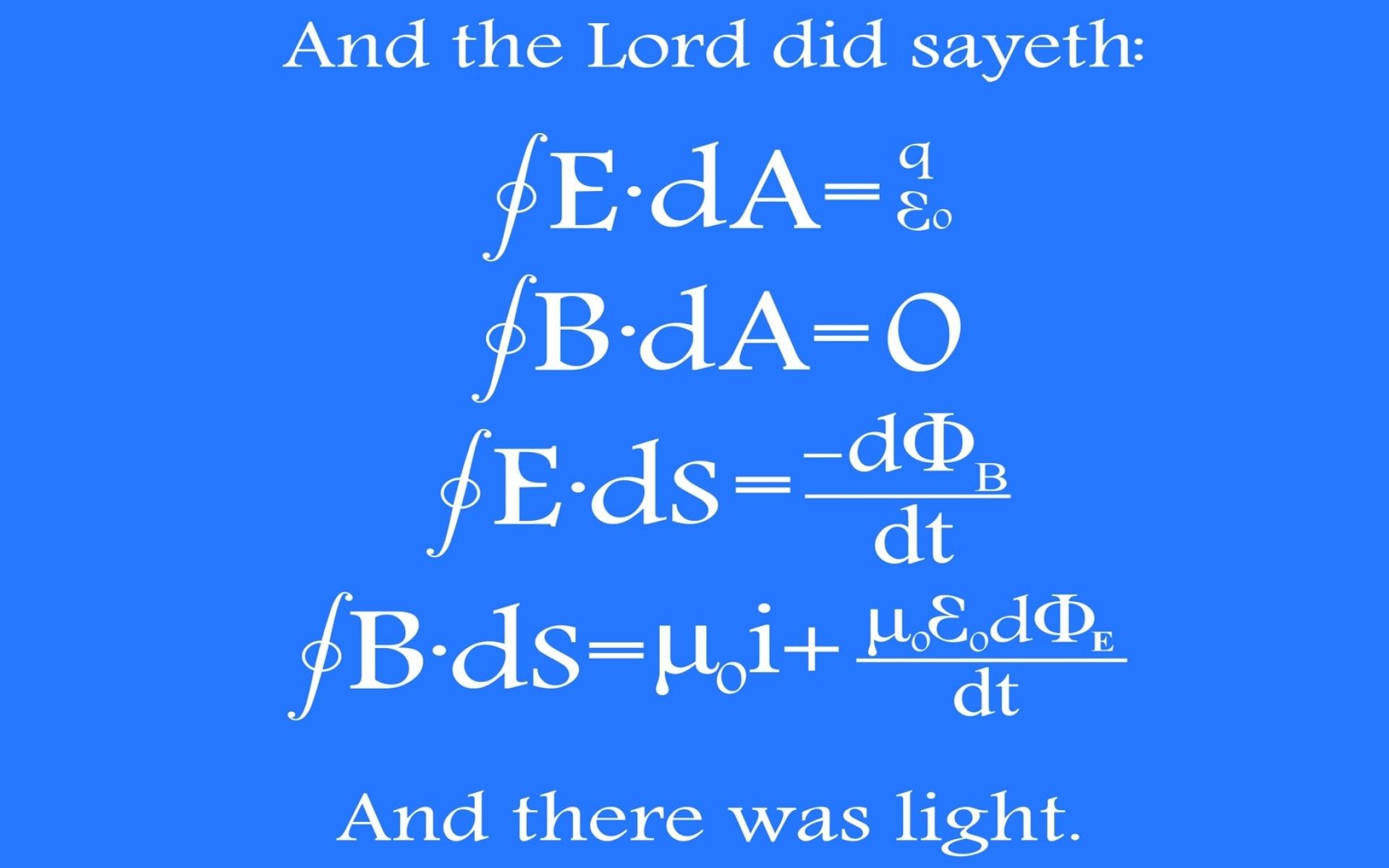 light physics mathematics maxwell 1680×1050 wallpaper Art HD Wallpaper
