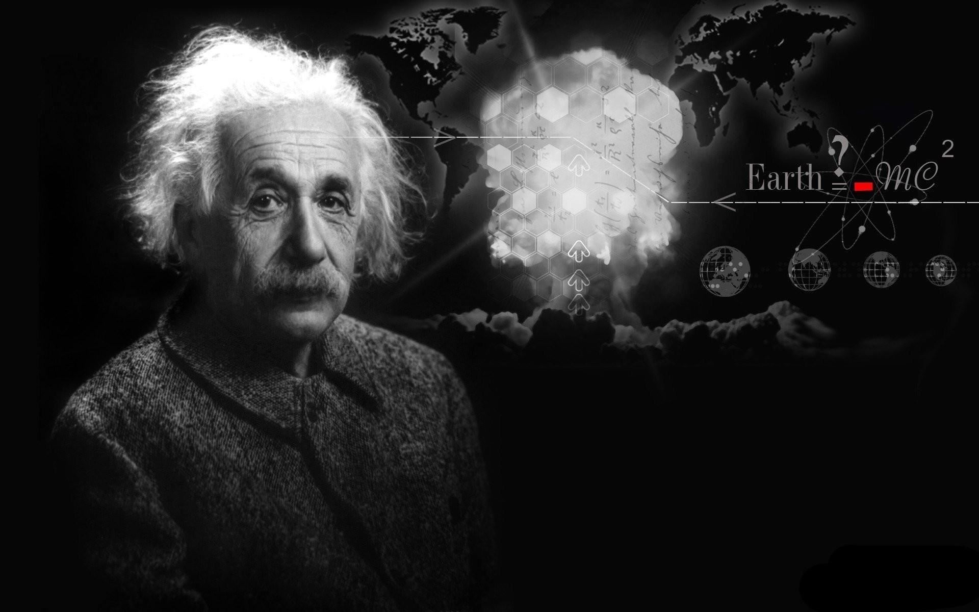 albert einstein albert einstein scientist physics theorist face formula  background