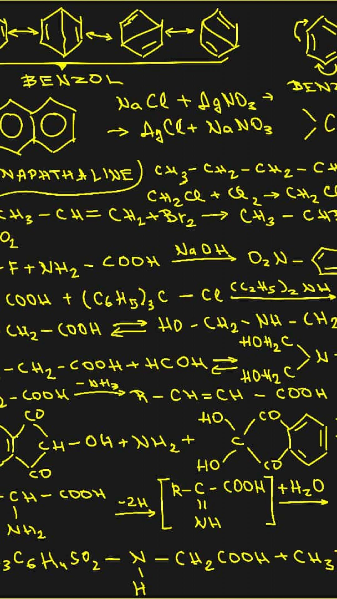 organic chemistry wallpapers