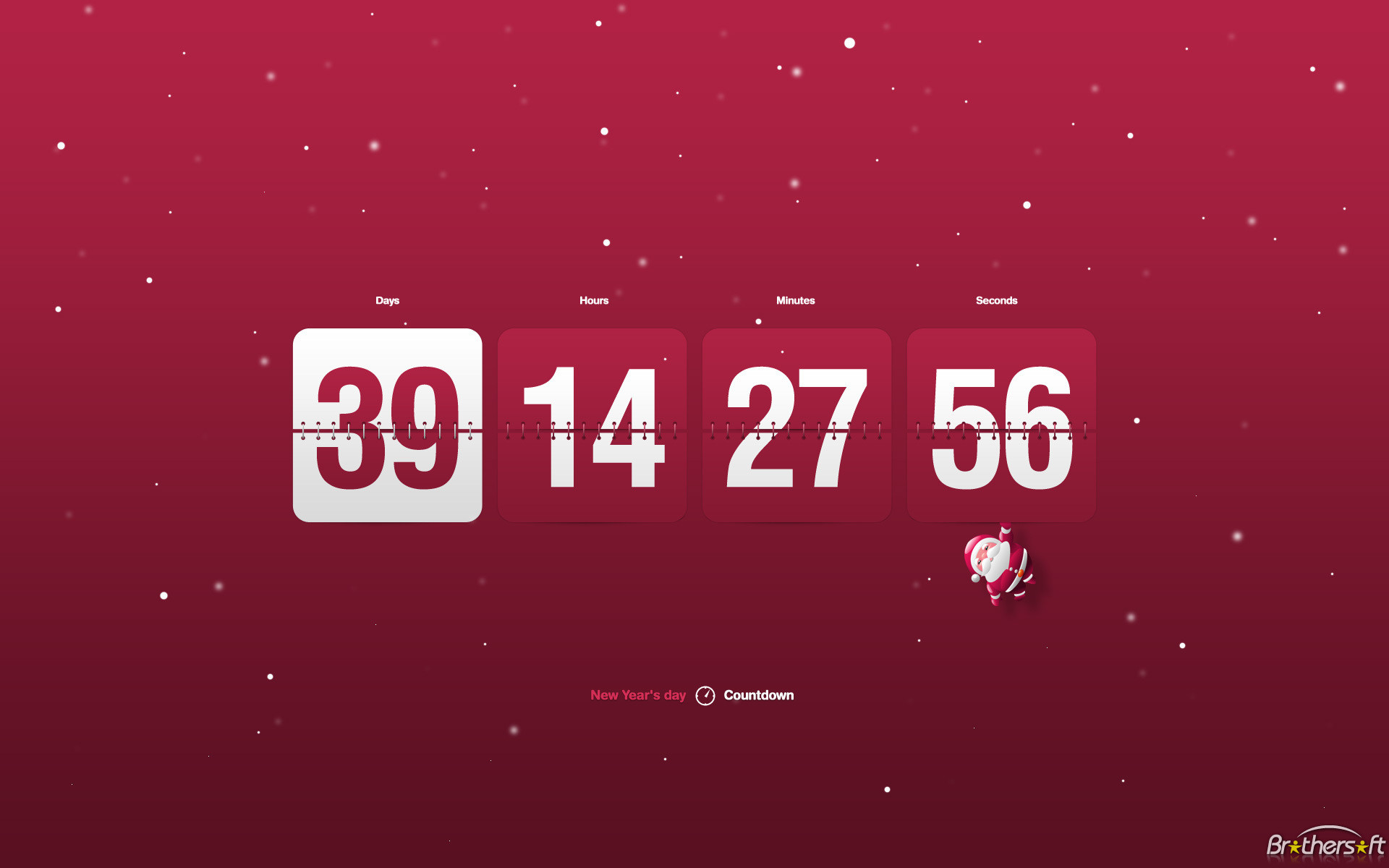 Download Free New Year Clock & Countdown screensaver, New Year .
