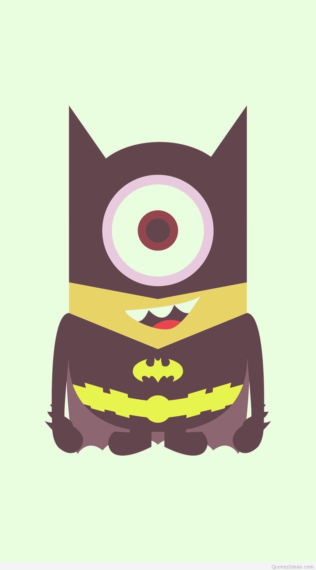 … cool bat man minion iphone 6 plus wallpaper – despicable me 2014  halloween-f95571 …