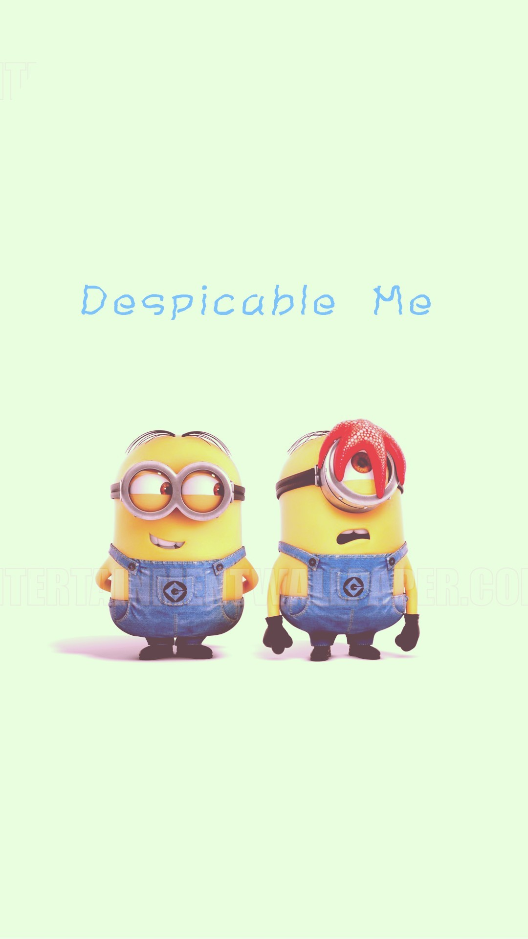 2014 Halloween minion with starfish apple iphone 6 plus wallpaper HD –  Despicable Me #iphone