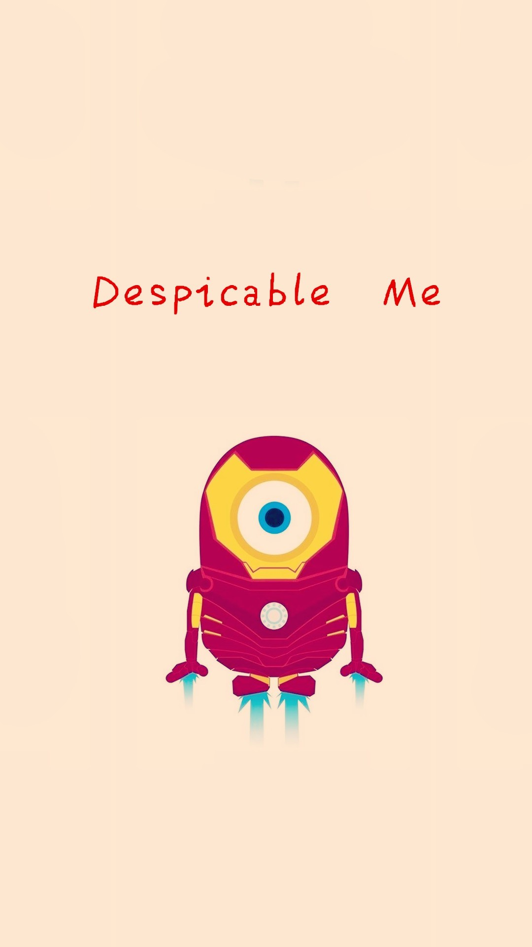 … Wallpaper Weekends: Minions Marvel Superheroes for Your iPhone