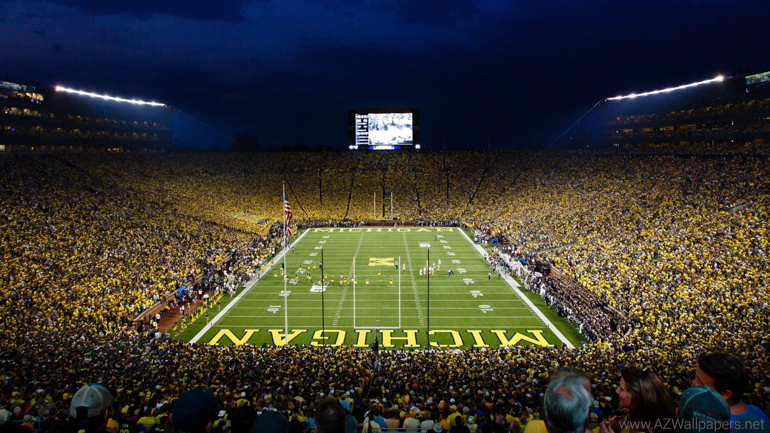 University of Michigan HD Wallpaper 2560×1440