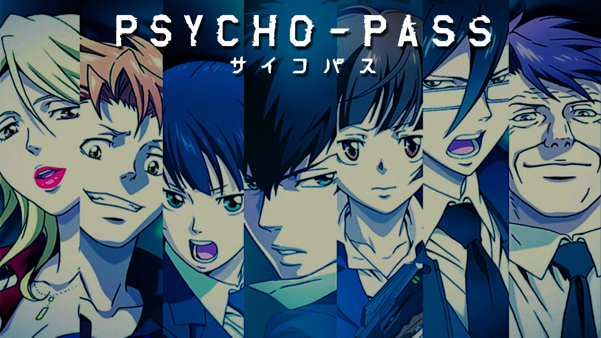 Anime – Psycho-Pass Wallpaper