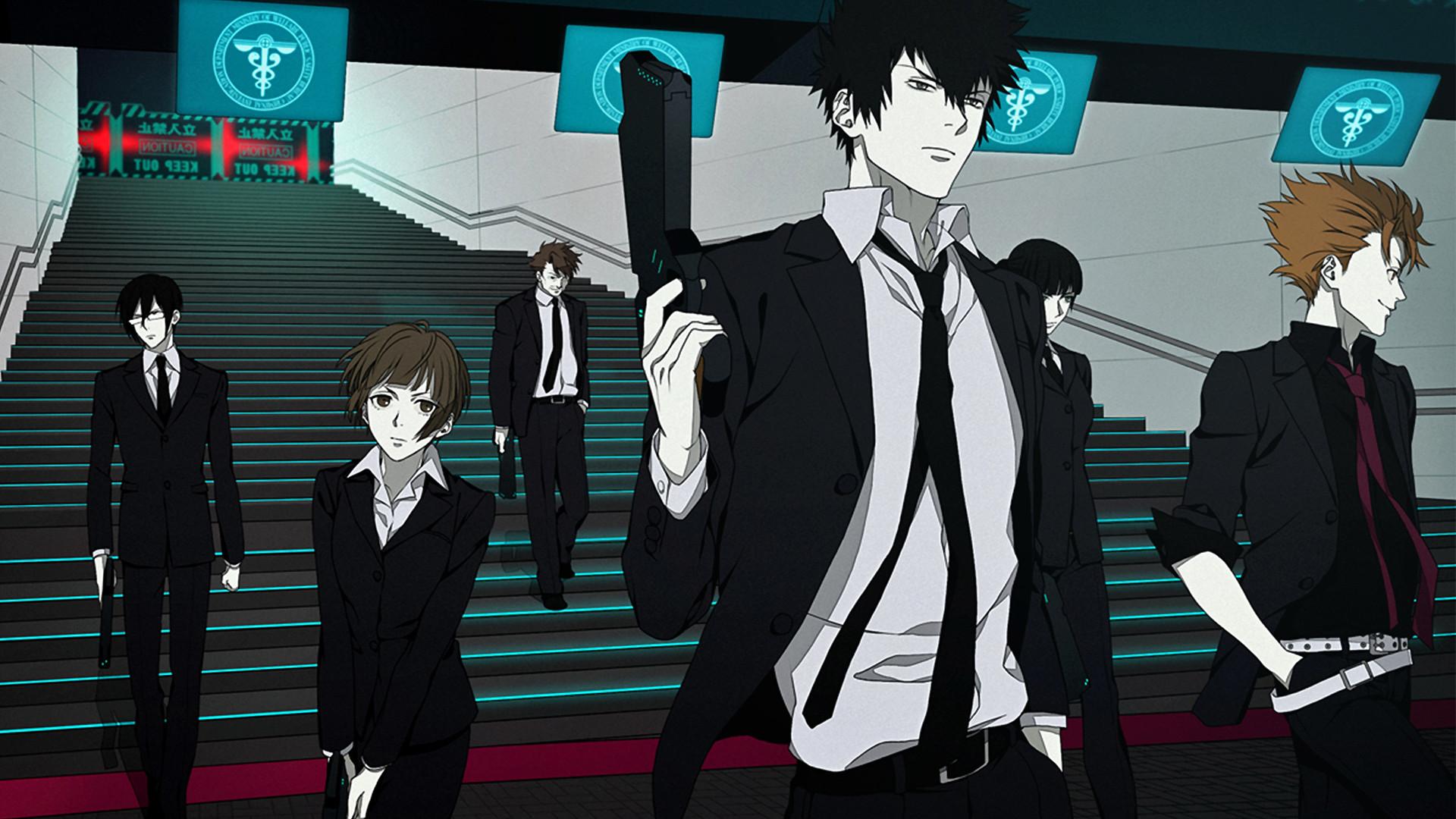 Psycho Pass Anime 01 HD Wallpaper