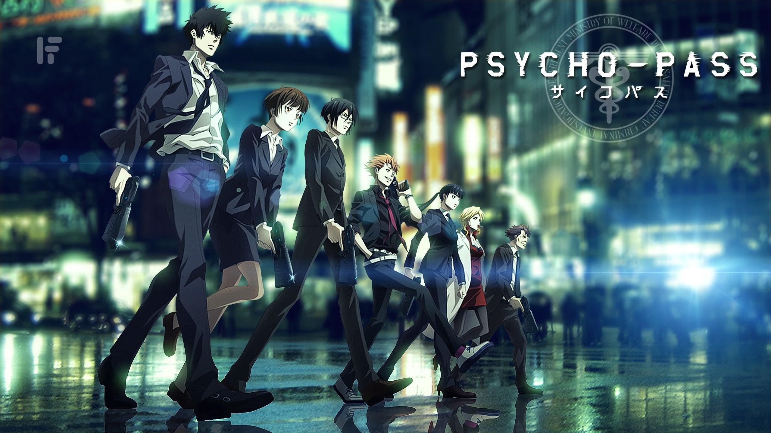 Psycho-Pass Shinya Kogami Tsunemori Akane Anime 124973