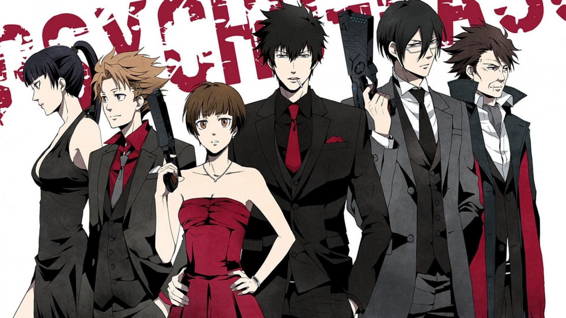 Psycho-Pass Shinya Kogami Tsunemori Akane Anime