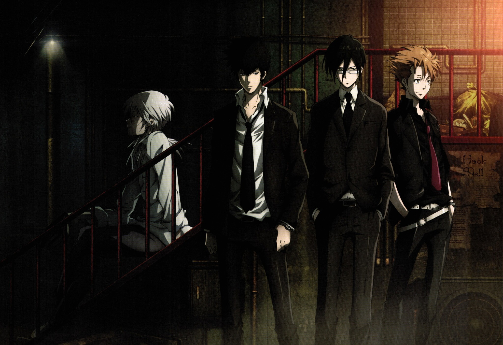 Psycho Pass, Shinya Kogami, Anime Wallpapers HD / Desktop and Mobile  Backgrounds