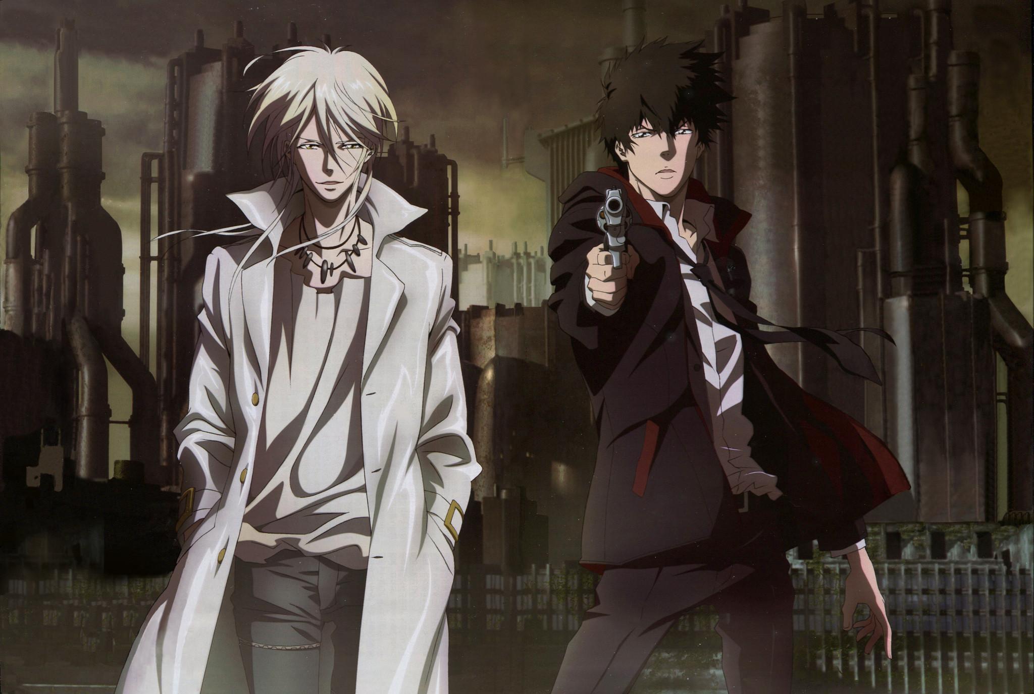 Makishima Shogo and Shinya Kougami Psycho Pass HD Wallpaper