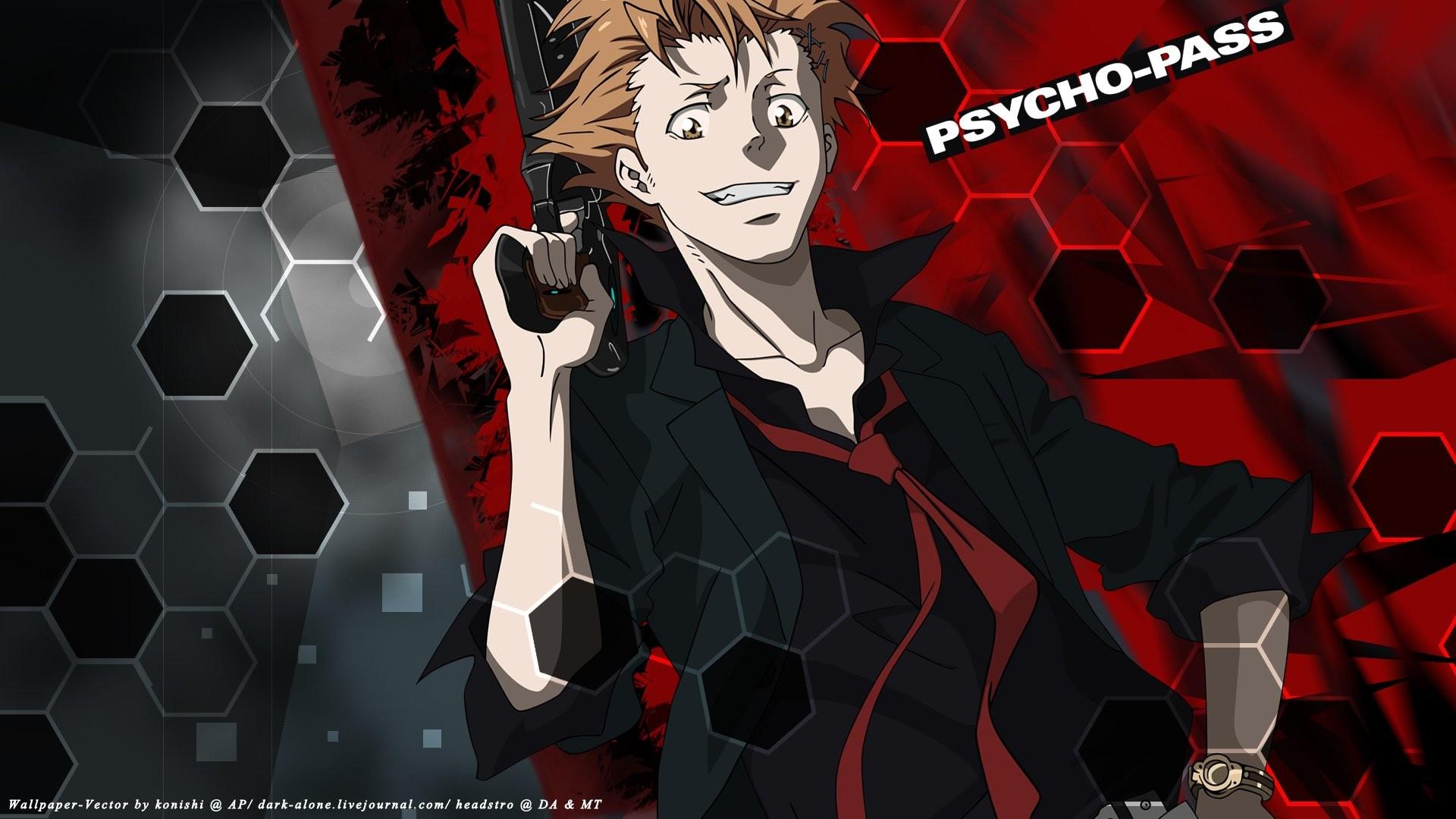 Anime – Psycho-Pass Shuusei Kagari Bakgrund
