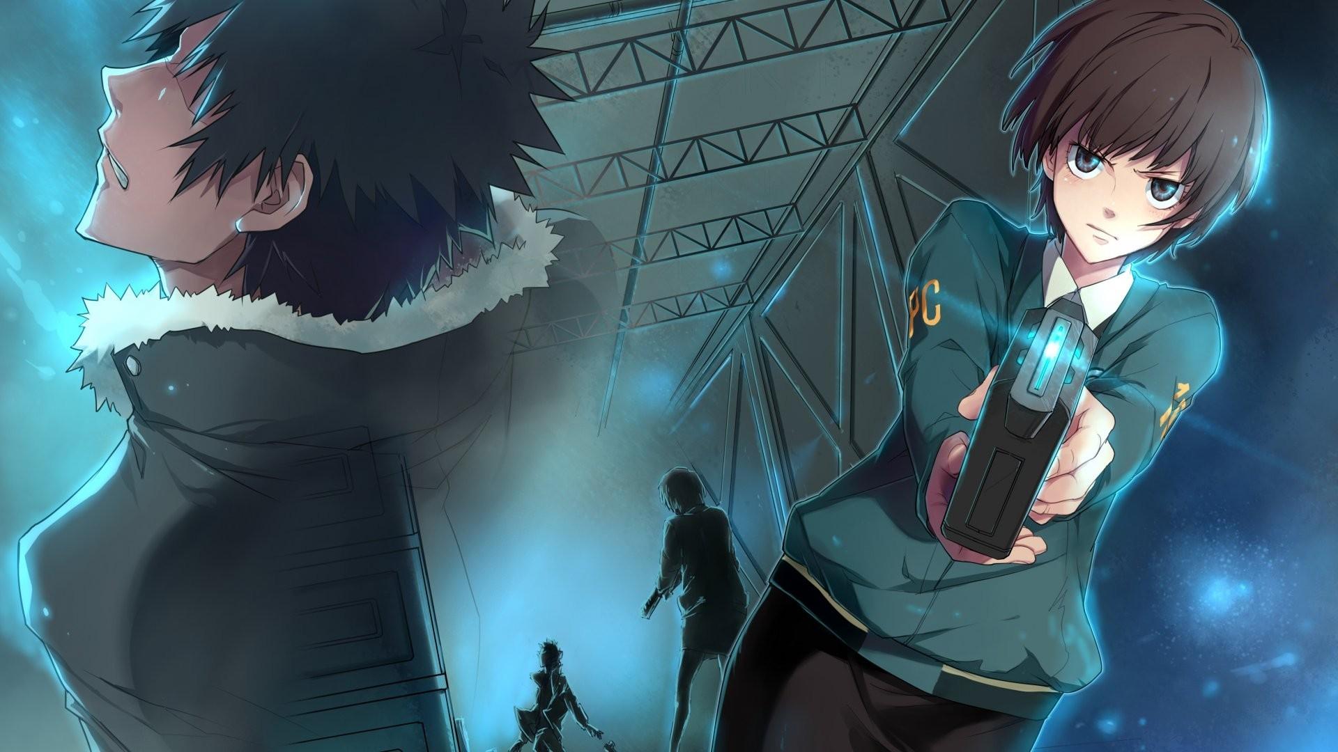 Psycho Pass, Shinya Kogami, Tsunemori Akane, Anime Wallpapers HD / Desktop  and Mobile Backgrounds