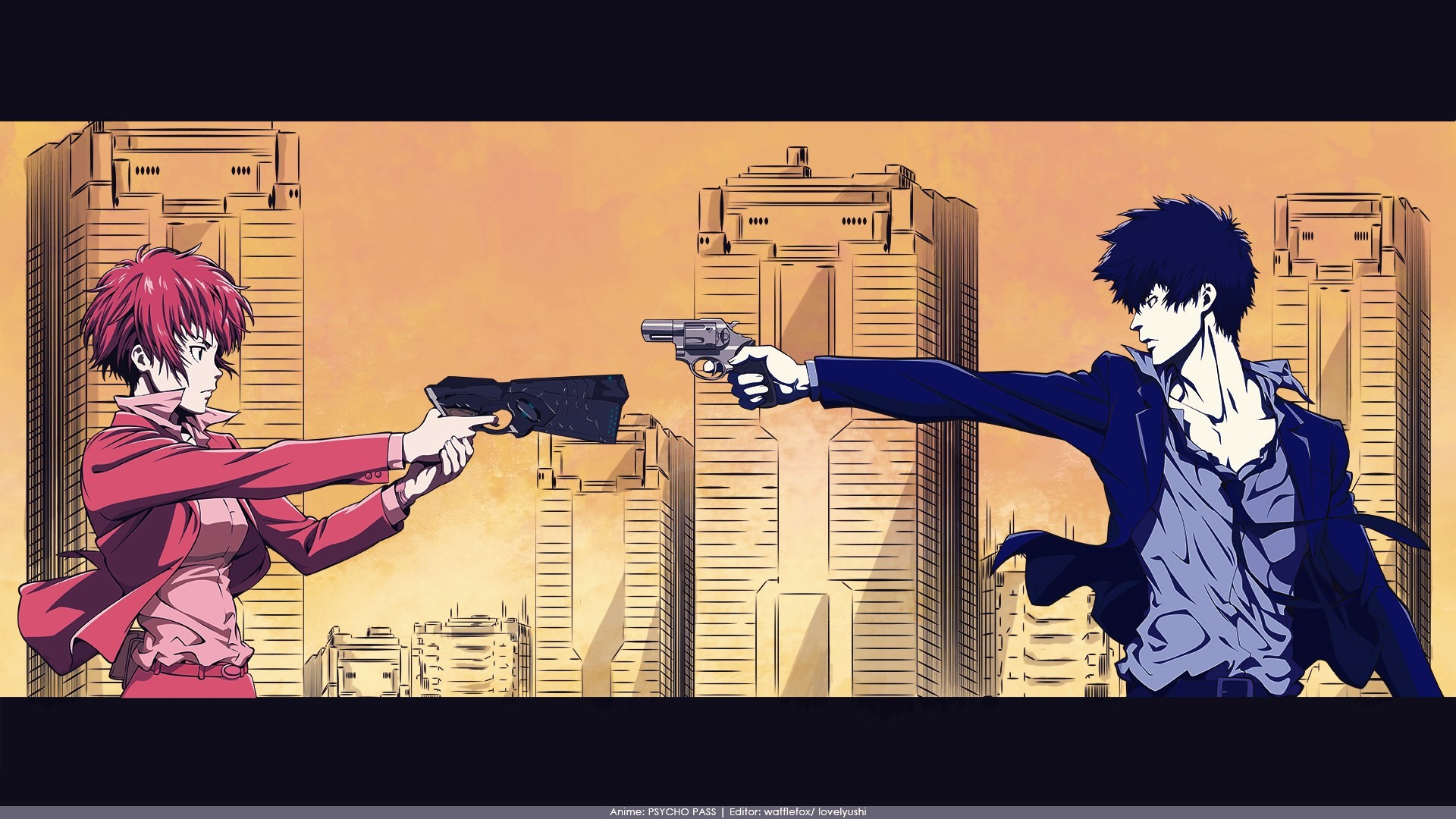 psycho pass : Wallpaper Collection 1920×1080