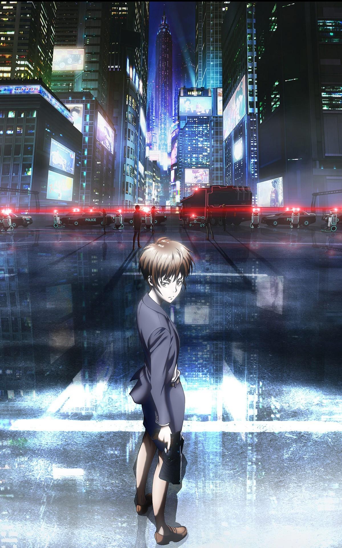 Anime Psycho-Pass Tsunemori Akane