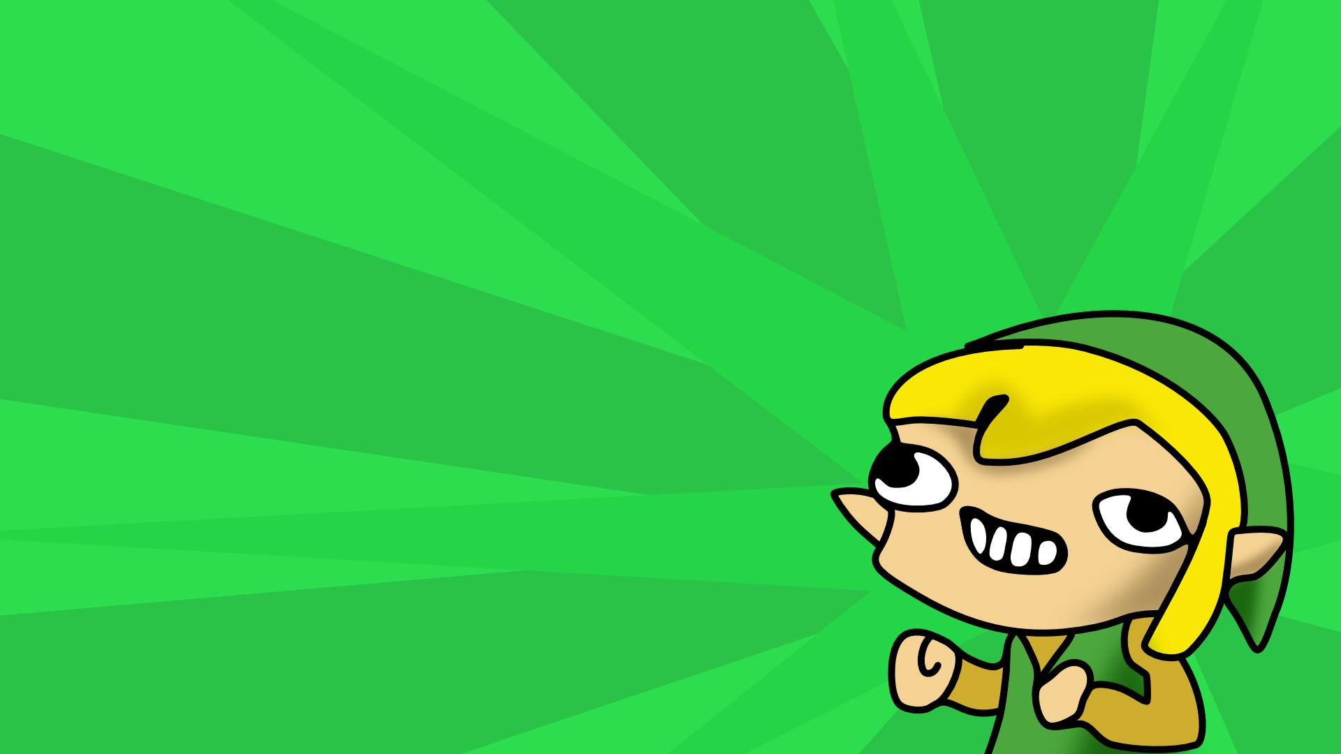 Link Green Meme Wallpaper