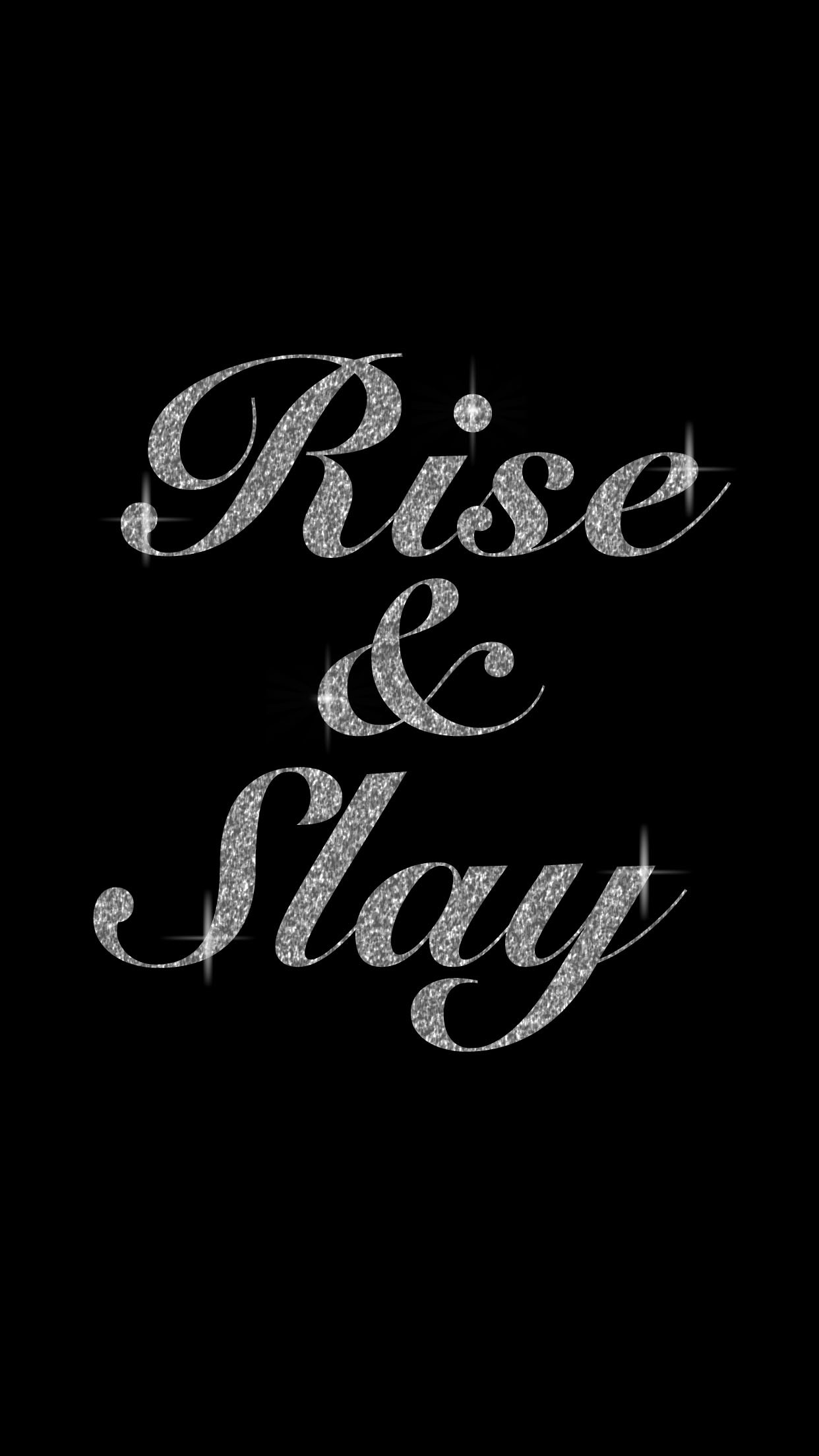 Rise and SLAY everyday! Motivation PicturesWomen's FitnessFitness Motivation