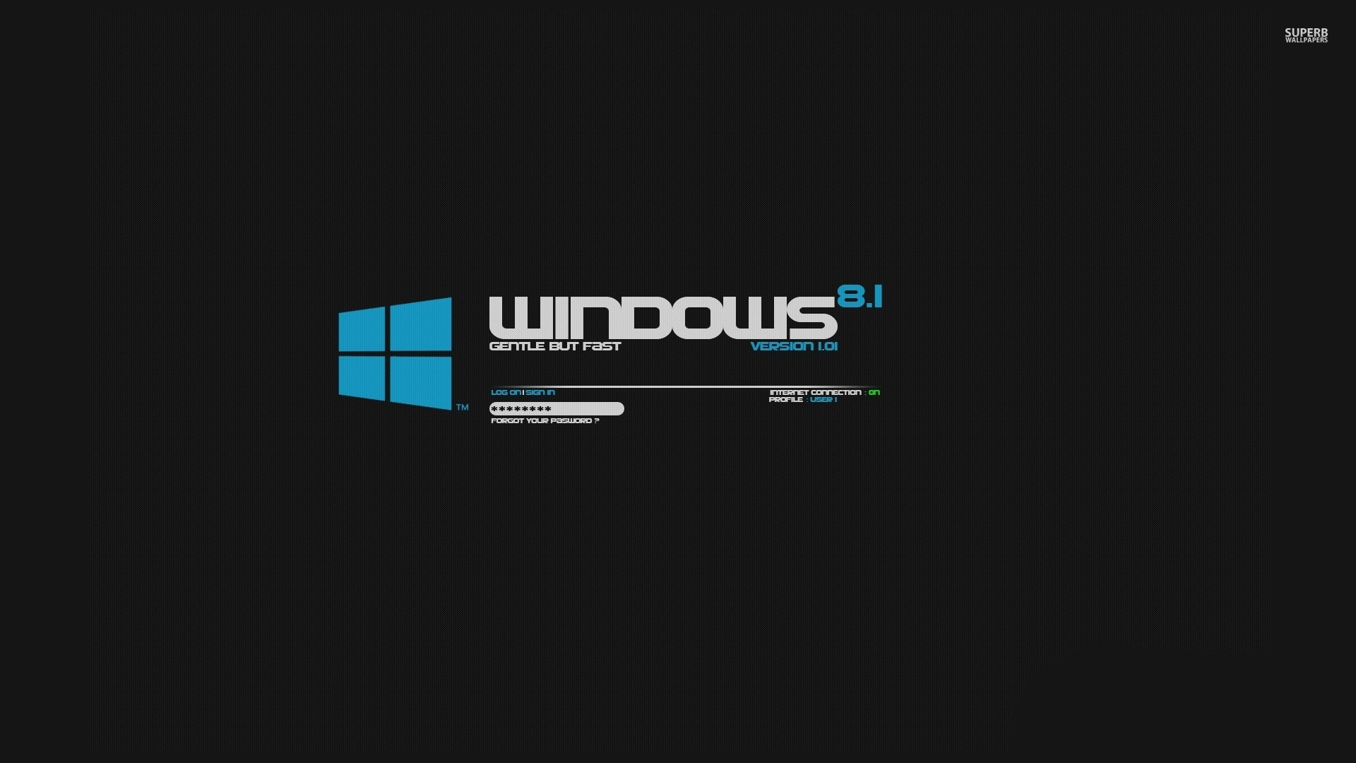 Windows 8.1 in Black Background Wallpaper – MixHD wallpapers