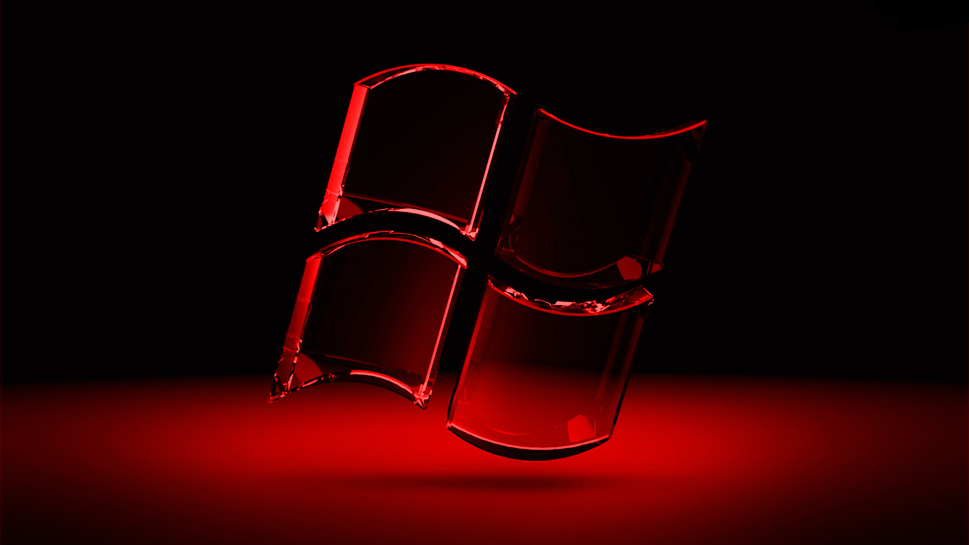 Windows 8 Black and Red HD wallpaper