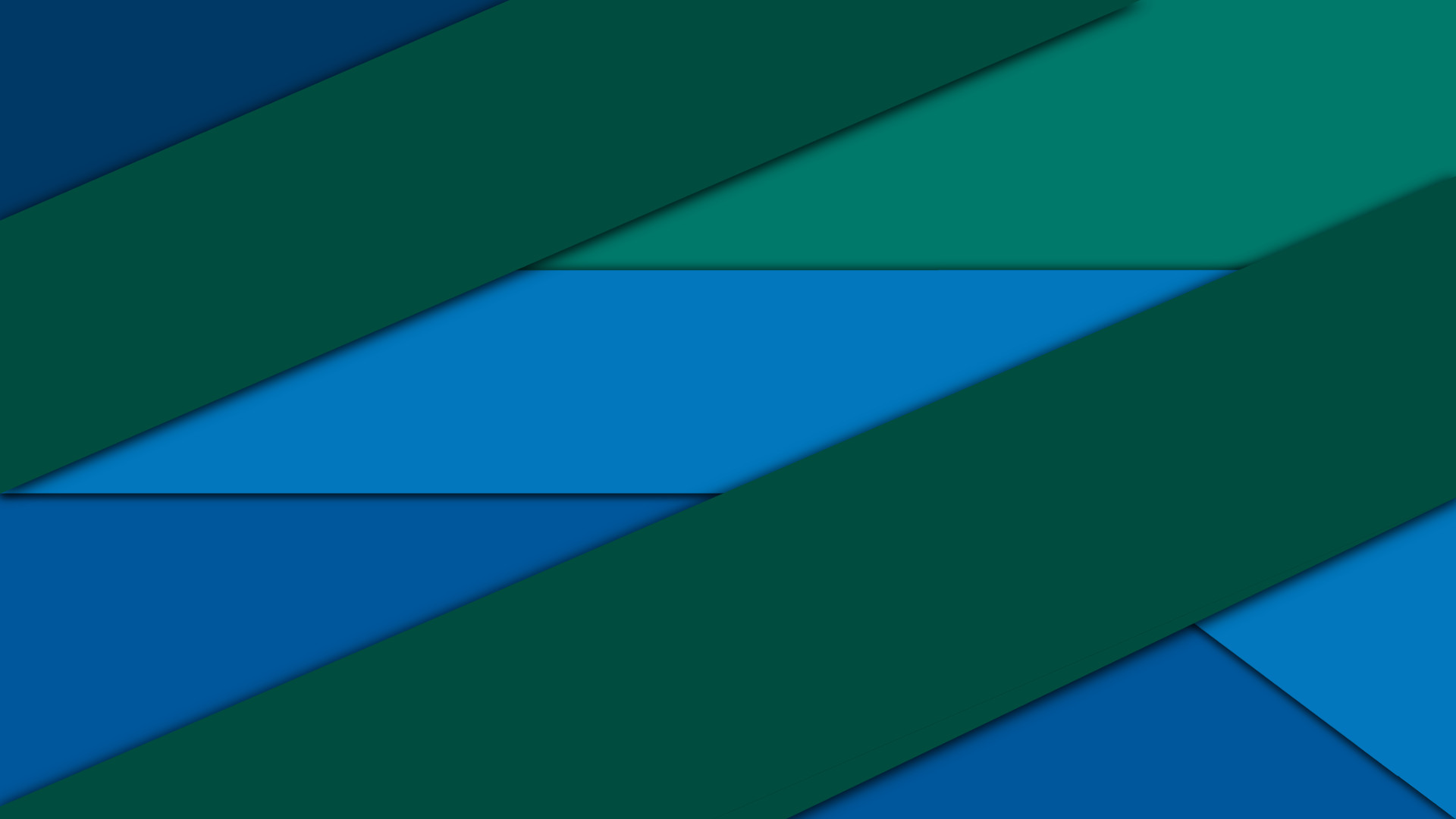 10. Blue and Green Material Design Wallpaper