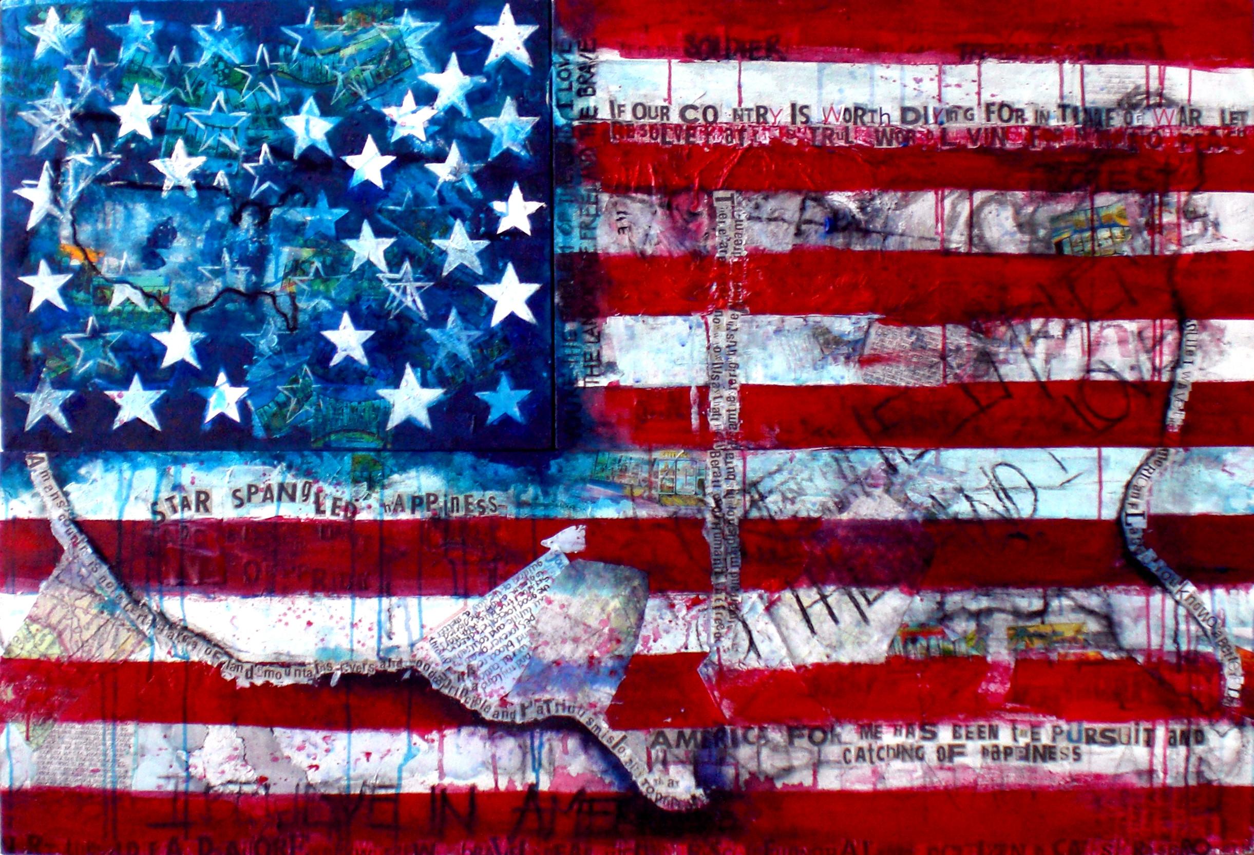 USA flag art backgrounds