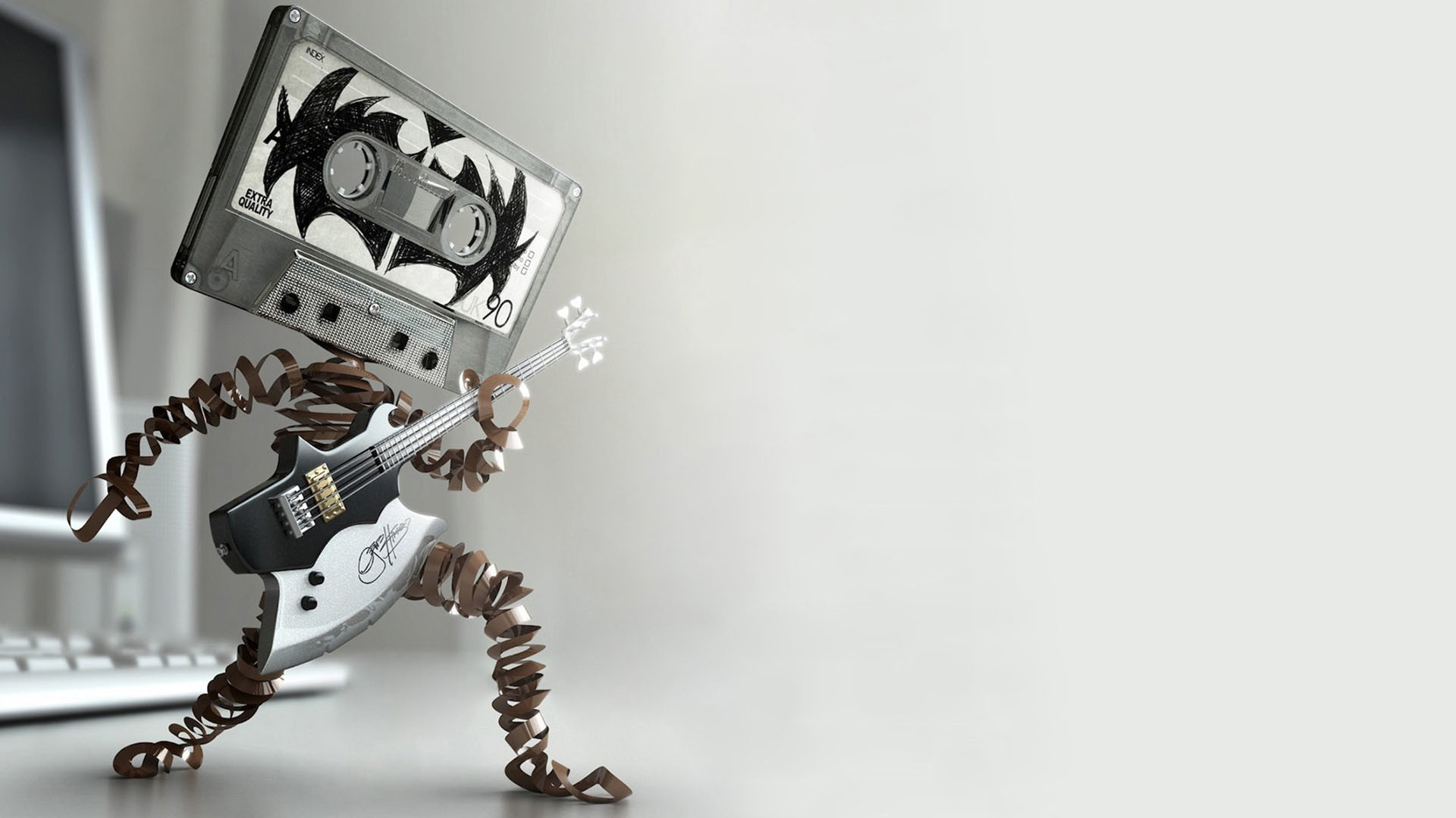 Cool 3D Wallpapers Music