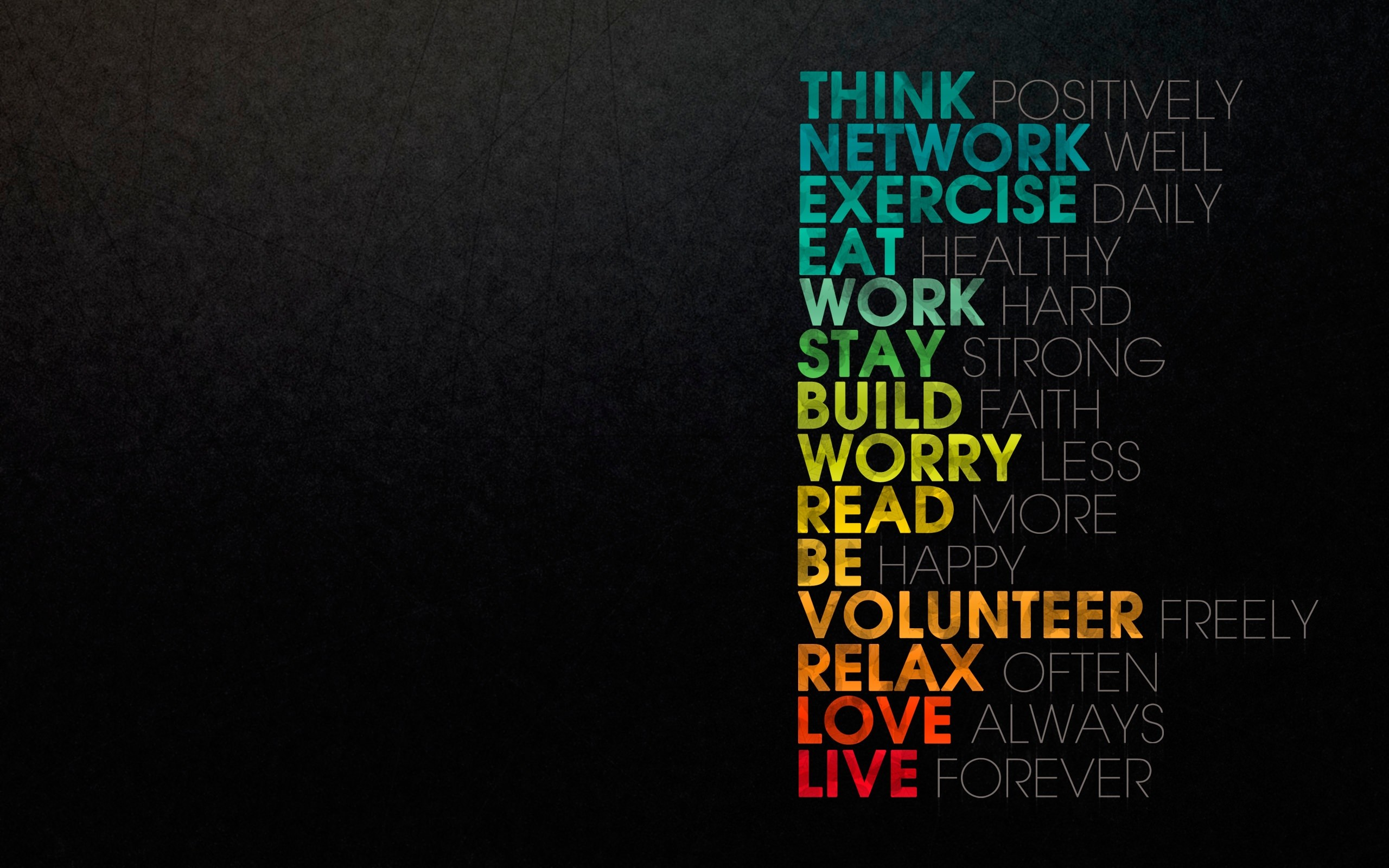 35 Inspirational Typography HD Wallpapers for Desktop, iPhone and .