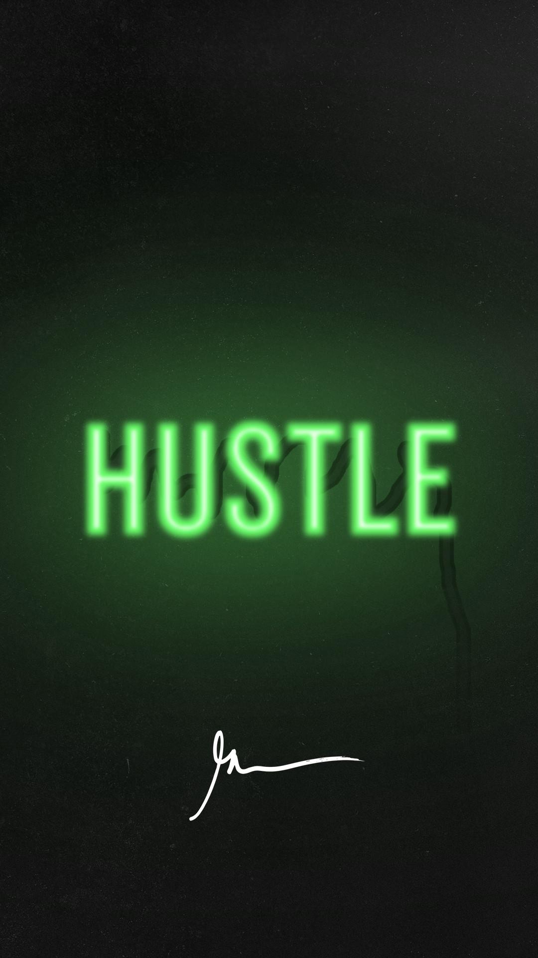 Signature Wallpaper. Hustle