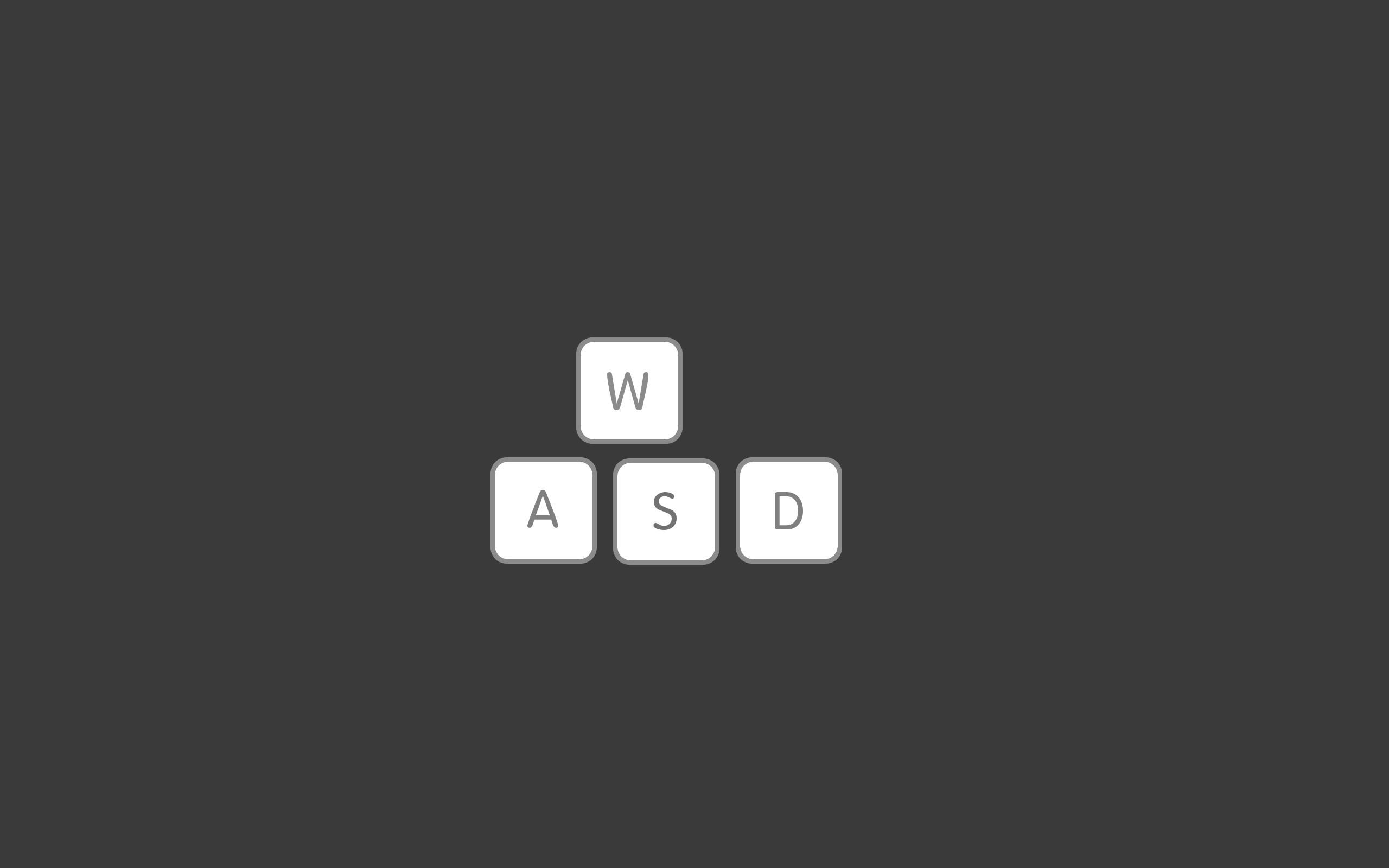 Video games minimalistic mac gray keyboards gaming pc games wallpaper .