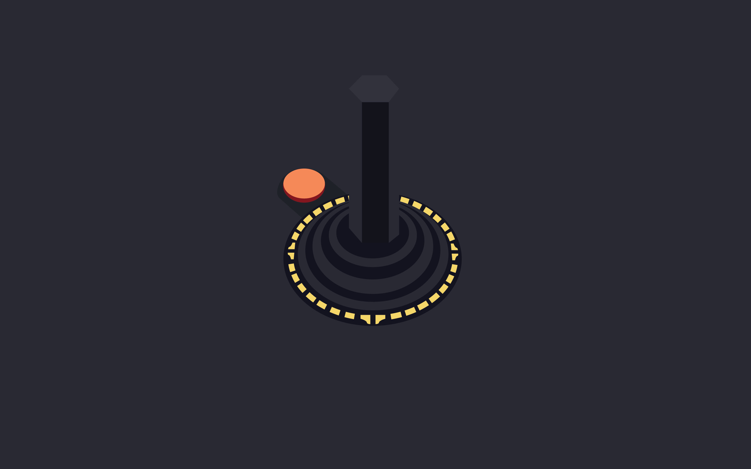 /by Nick Gonzalez #atari #minimalist #walpaper   Wallpaper   Pinterest    Videogames