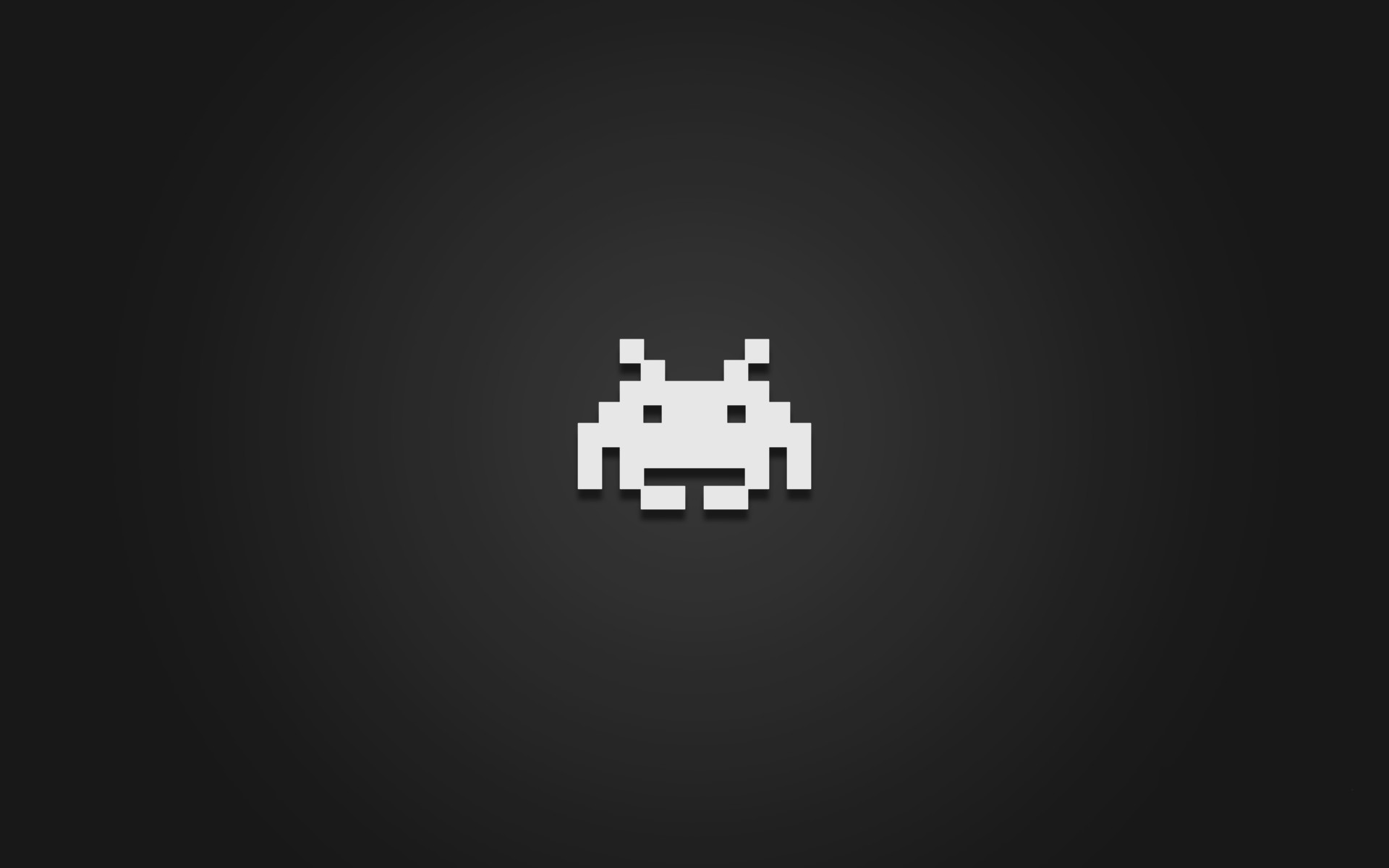 games minimalistic space invaders retro games wallpaper background .