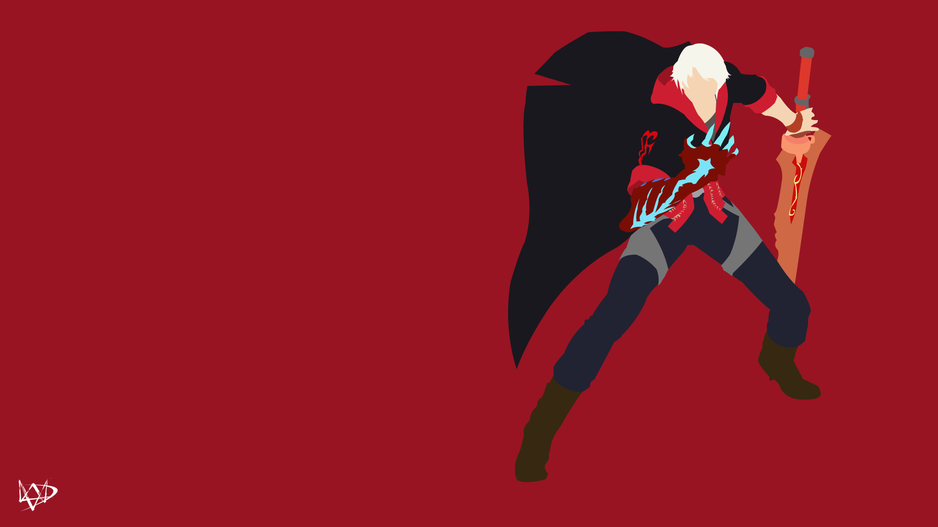 … Nero (Devil may Cry 4) Minimalist Game by Lucifer012