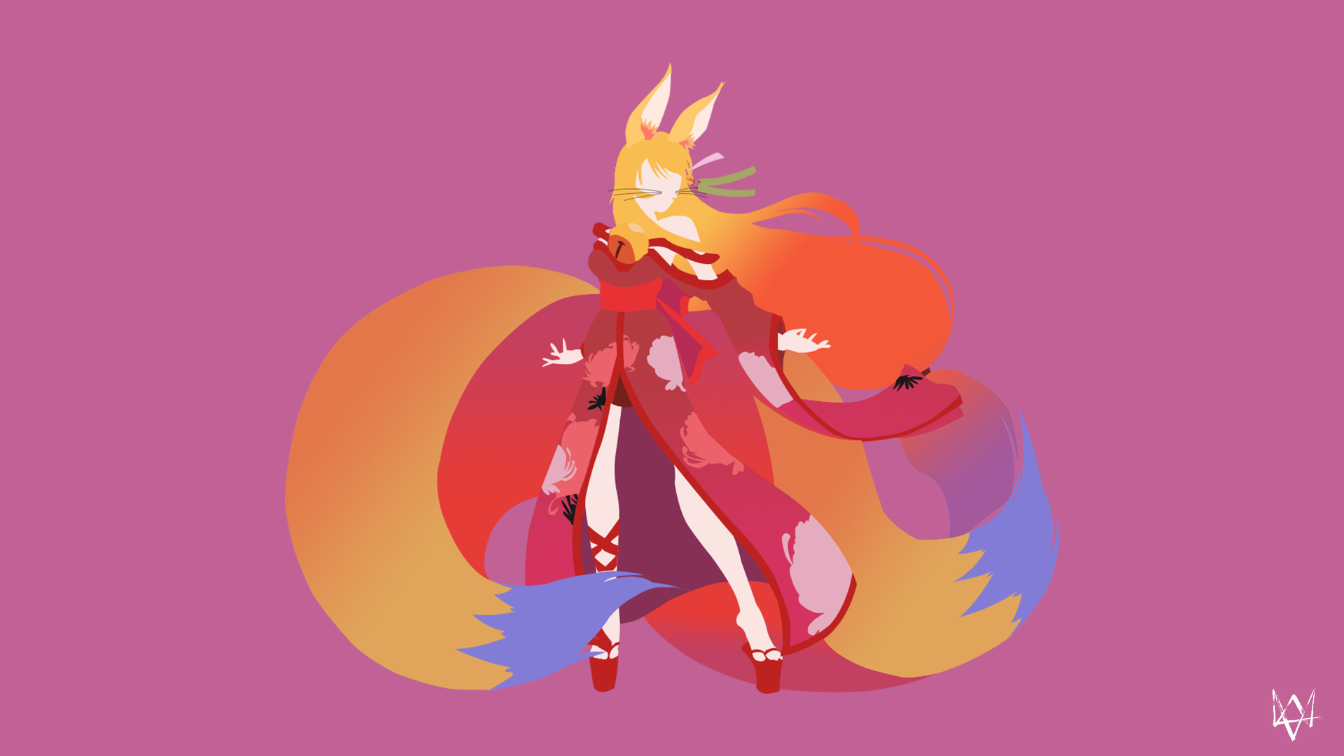Miko (No Game No Life) Minimalist Anime Wallpaper by Lucifer012 on .