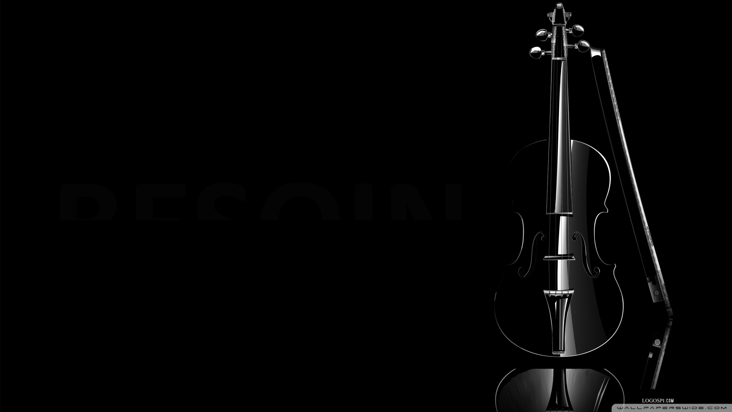 Black Violin HD desktop wallpaper High Definition Fullscreen