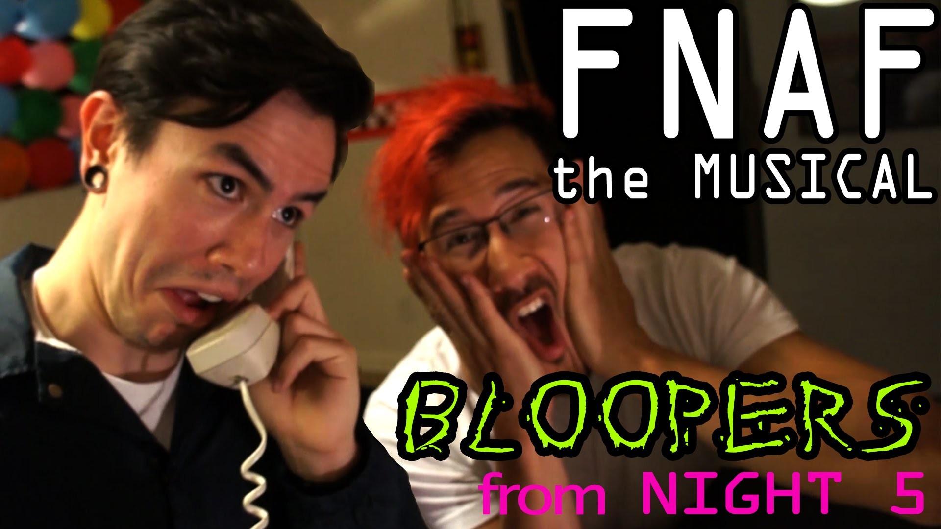 FNAF The Musical Night 5 **BLOOPERS!** (Markiplier, NateWantsToBattle,  MatPat and Random Encounters) – YouTube