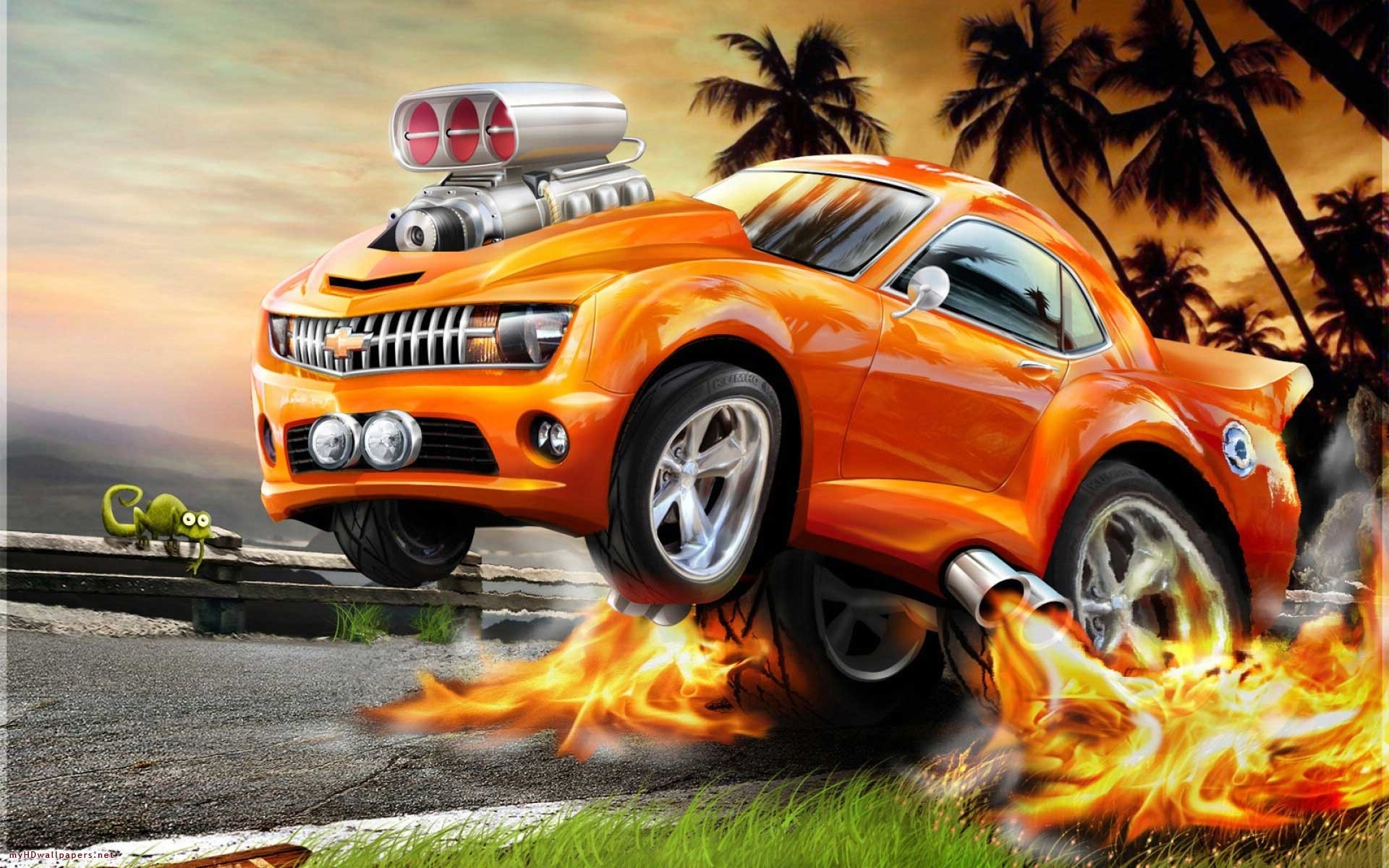 3d animated car wallpaper