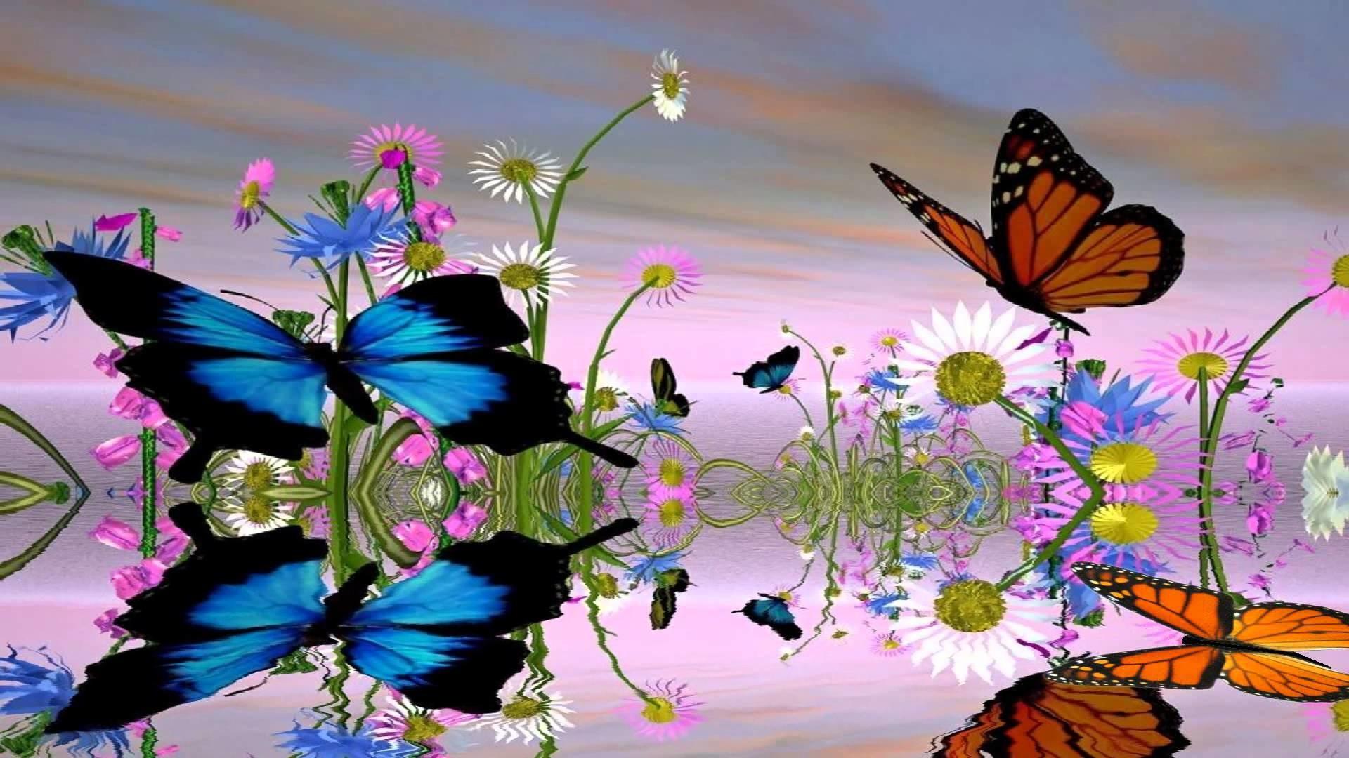 Fantastic Butterfly Animated Wallpaper https://www.desktopanimated.com –  YouTube