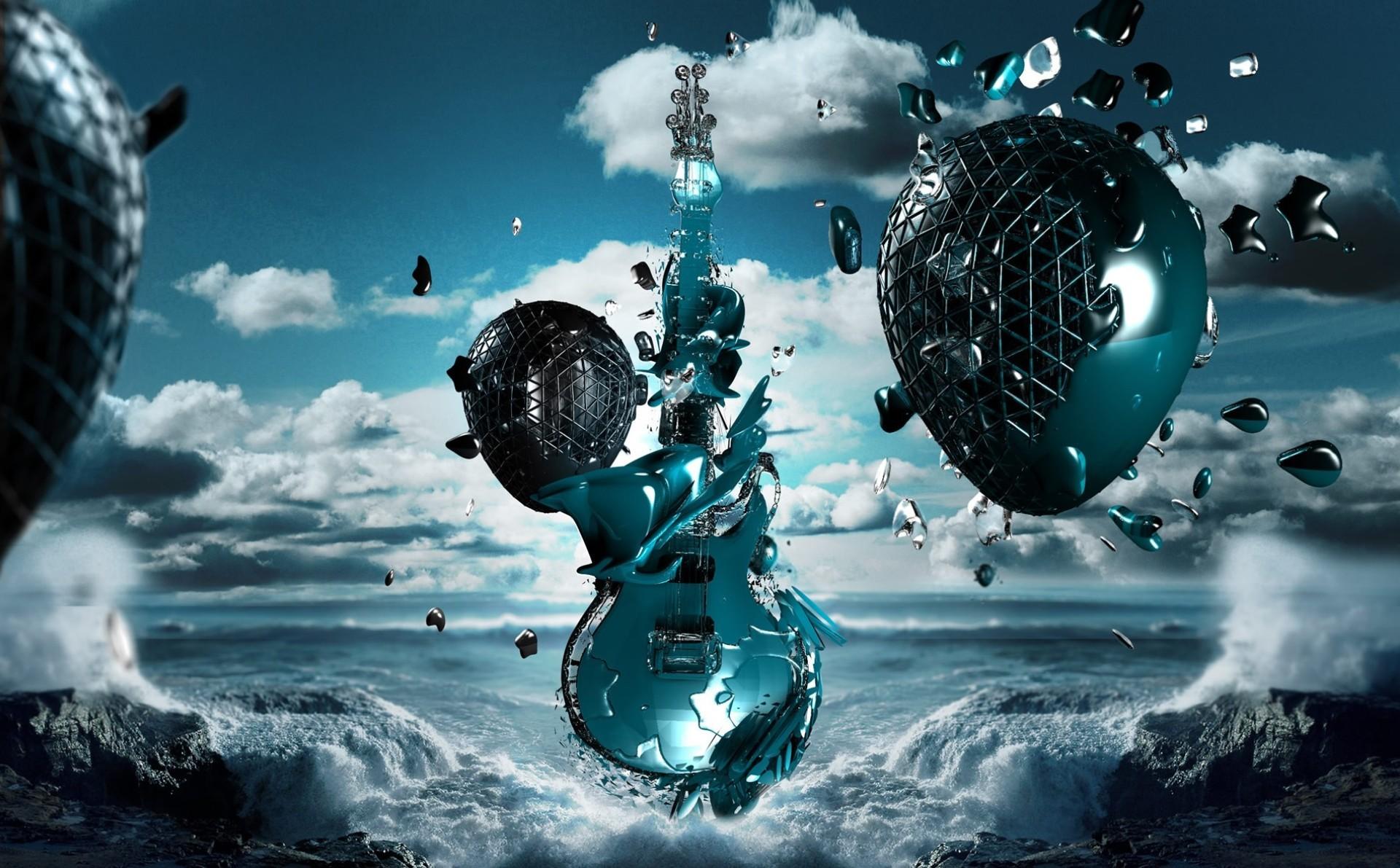 3D Music   3d music wallpaper 3d music wallpaper